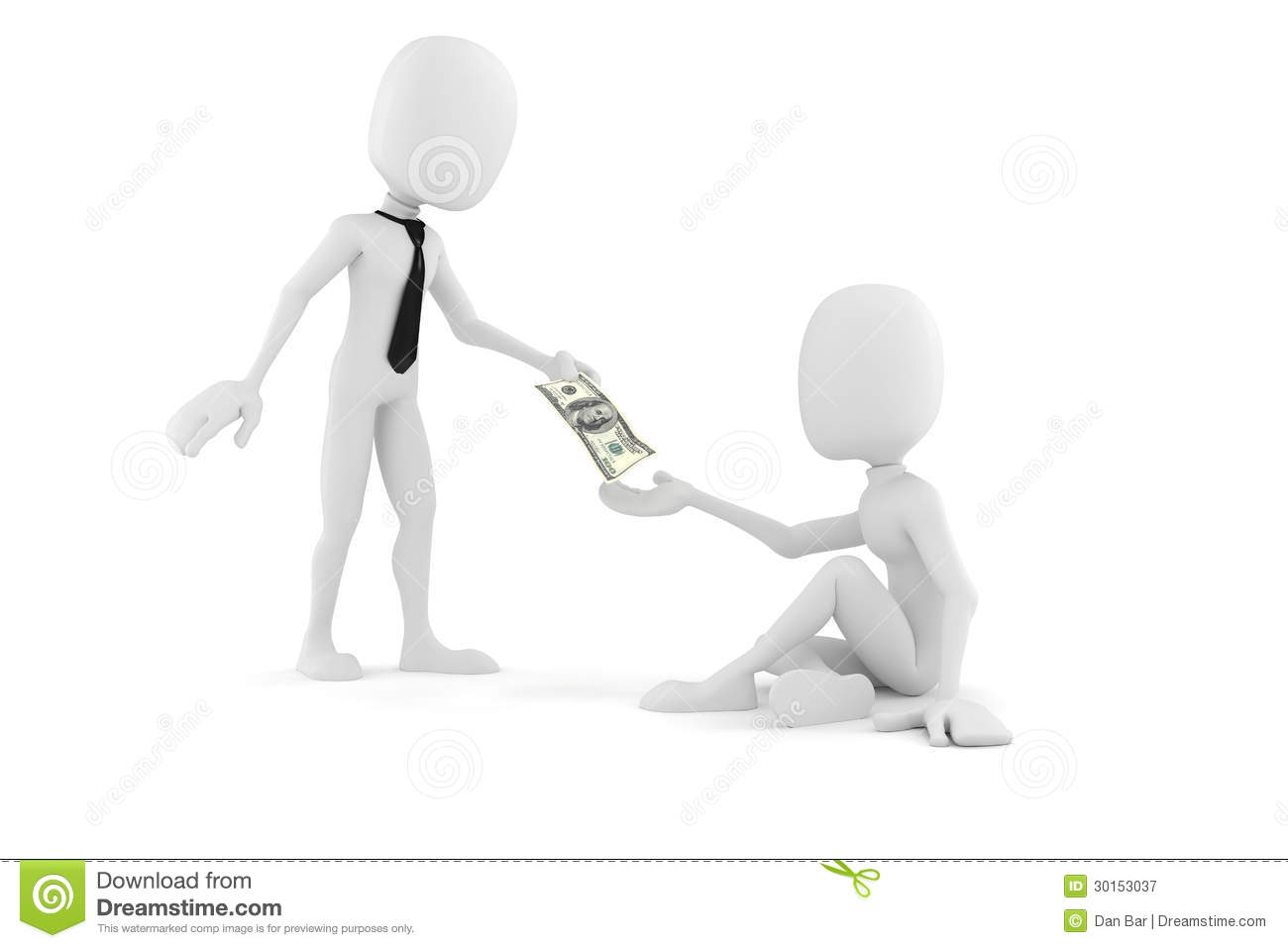 3d man businessman giving some money to a poor guy stock royalty free stock photo download 3d man sciox Images