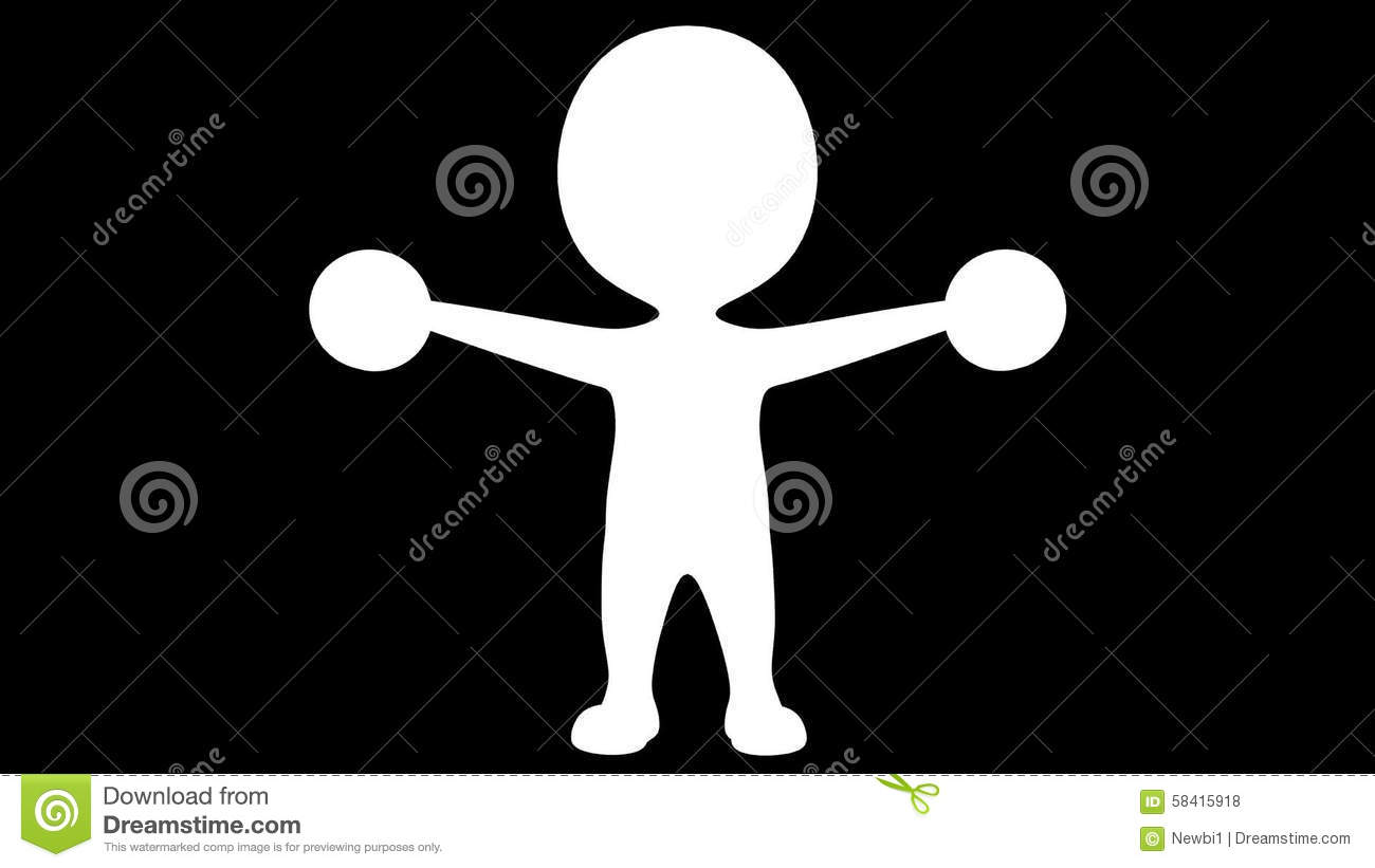 3d man lifting hand weights animation stock footage video of 3d man lifting hand weights animation stock footage video of gain attractive 58415918 biocorpaavc Images