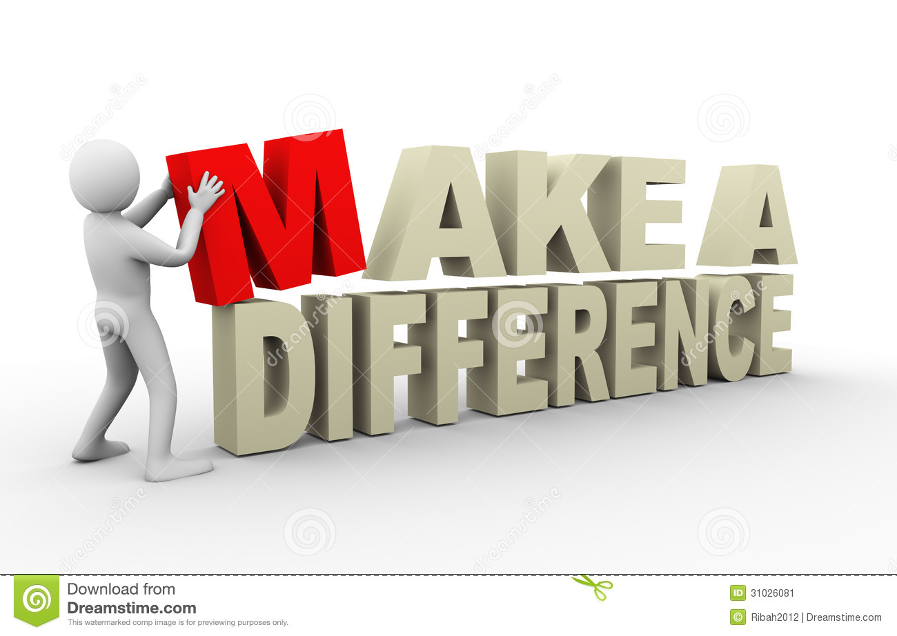 Make a difference pictures