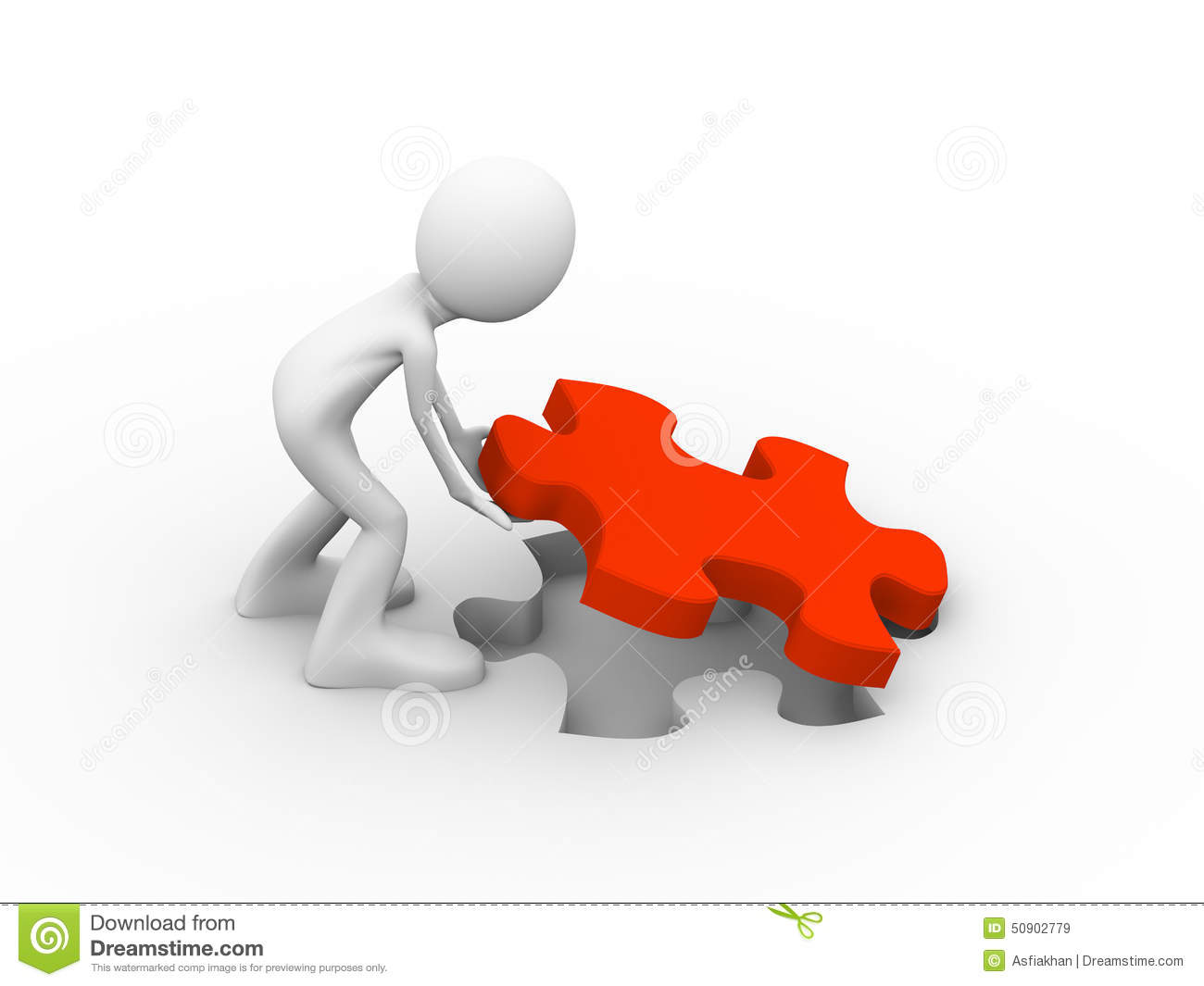 3d man putting puzzle piece stock illustration image puzzle piece vector free download puzzle piece vector free download