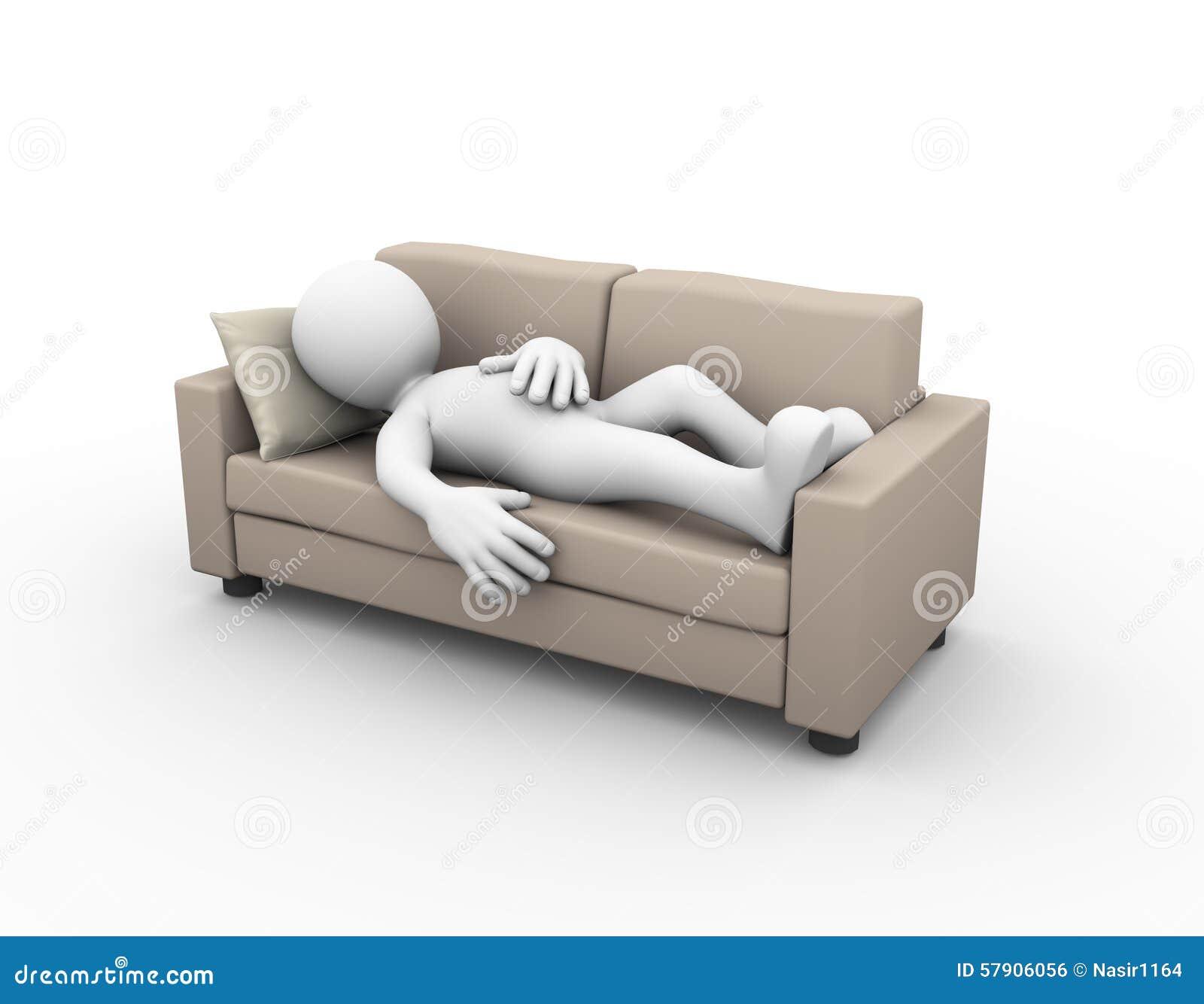 sleeping on a sofa permanently. Black Bedroom Furniture Sets. Home Design Ideas