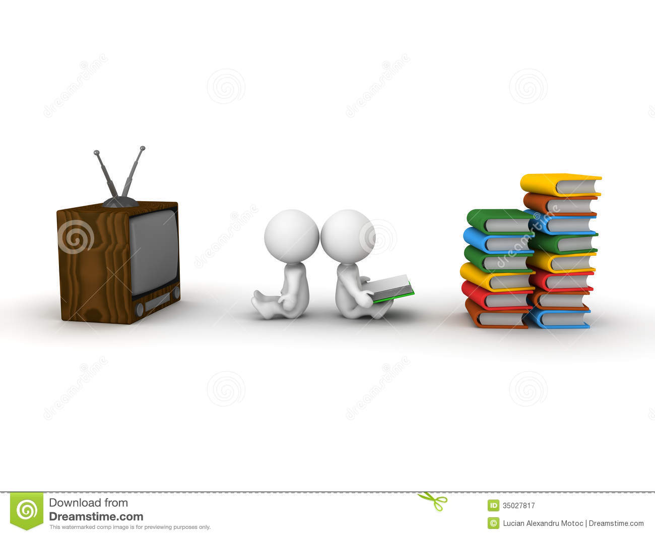 essay on watching tv or reading books Both watching tv and reading books have measurable effects on our brain - but which is best for learning, neural connectivity, and stress reduction.