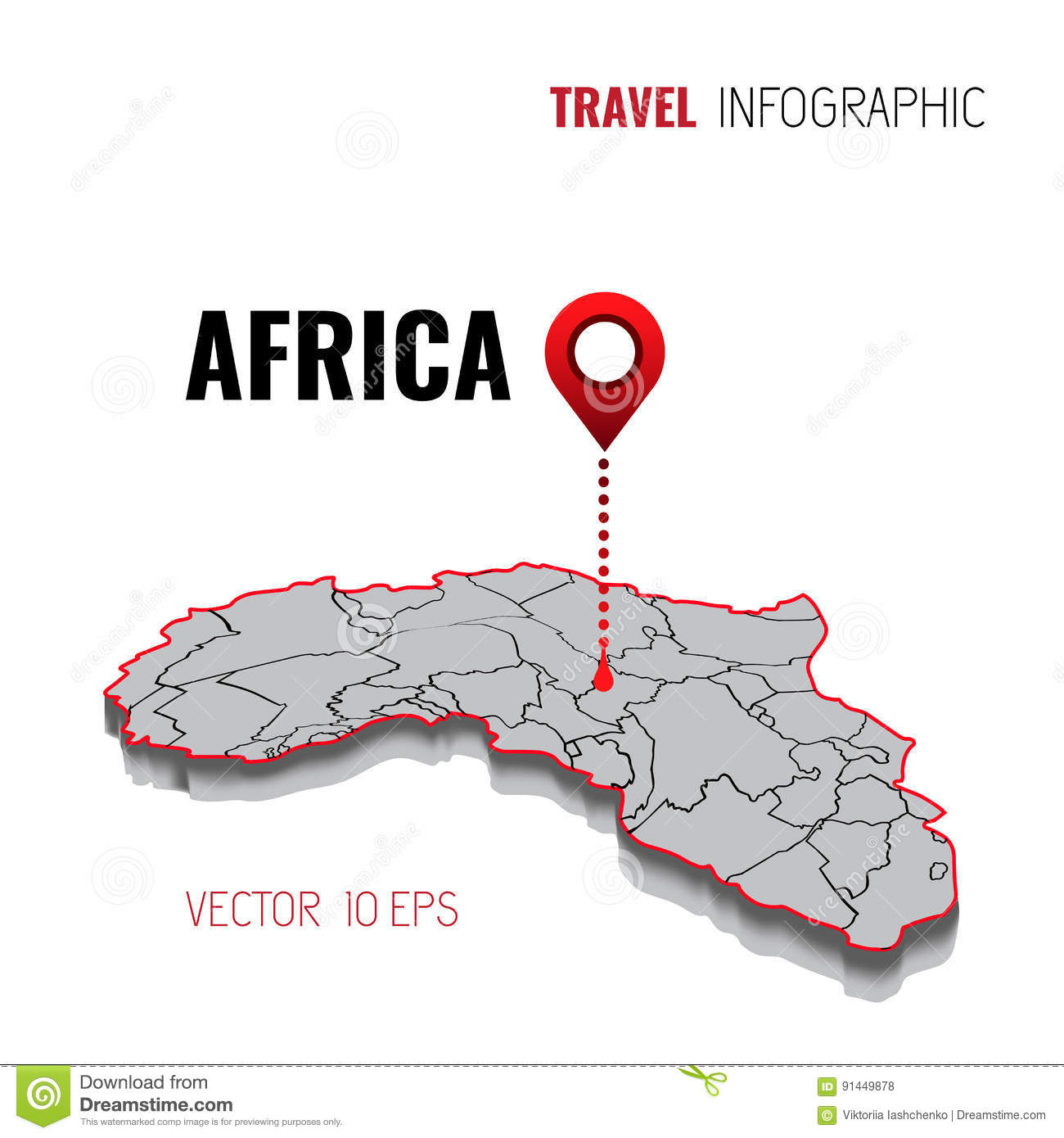 3d map of africa gps navigator pin checking green color on white download 3d map of africa gps navigator pin checking green color on white background ccuart Images