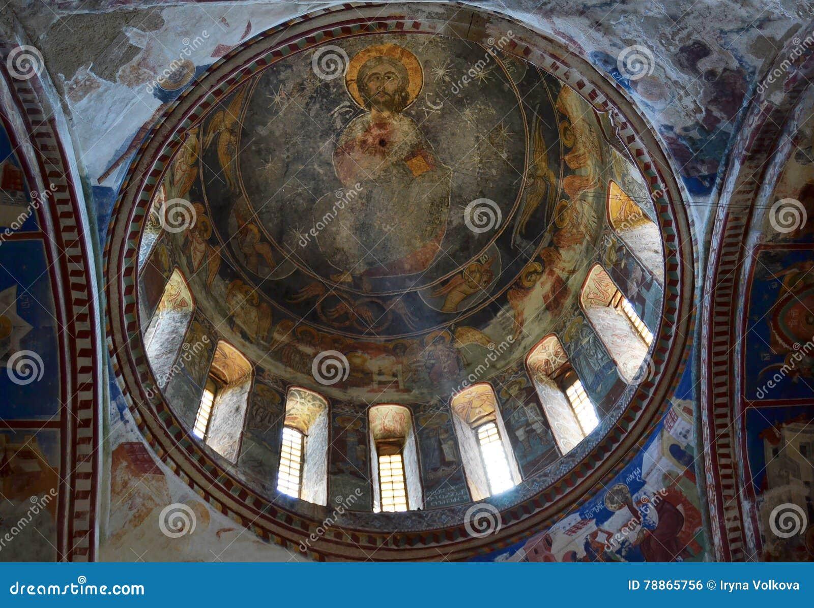 Dôme d église Trinity sainte dans Kazbegi