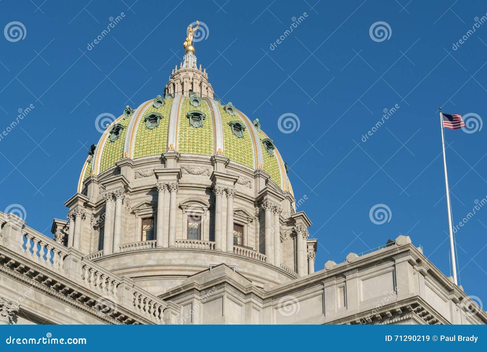 Dôme de capitol de la Pennsylvanie