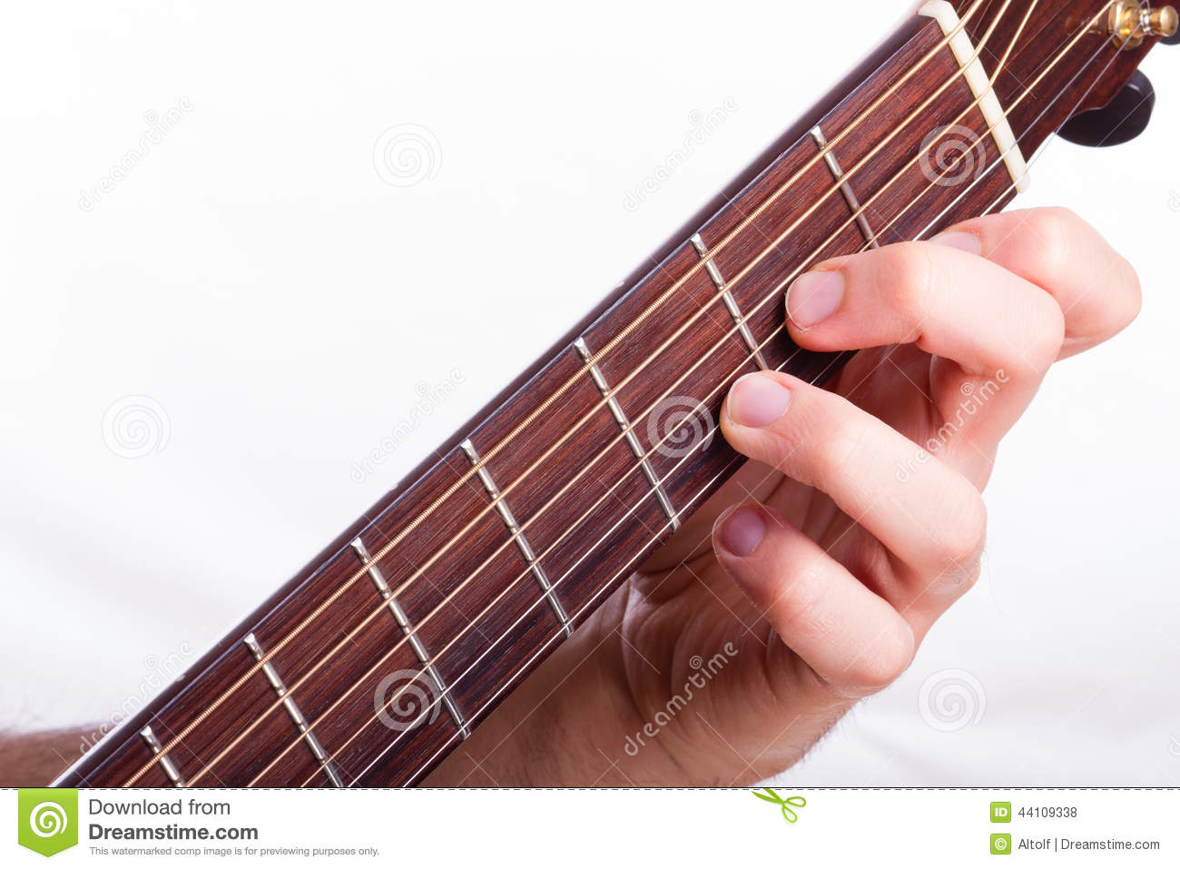 D Minor Chord Stock Photo Image Of Musician Chords 44109338