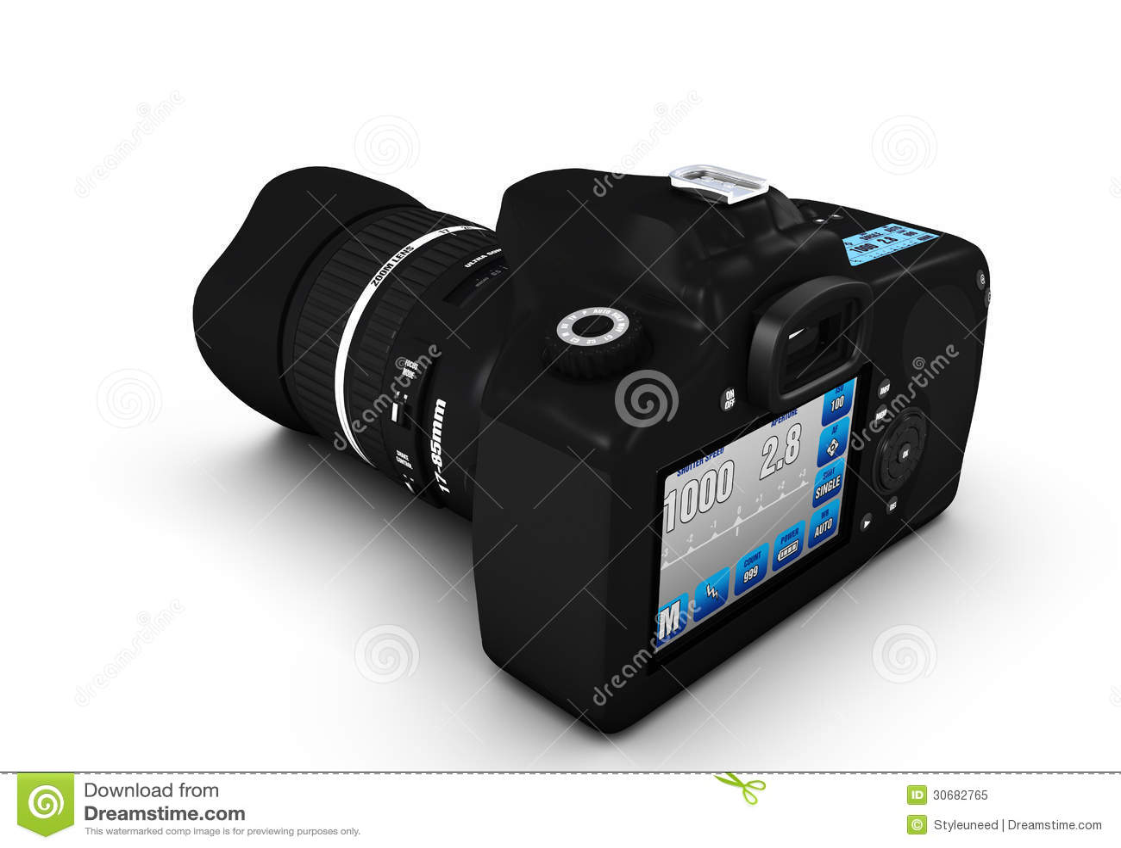 Camera 3d Dslr Camera dslr camera 3d model stock illustration image 57421229 of royalty free photo