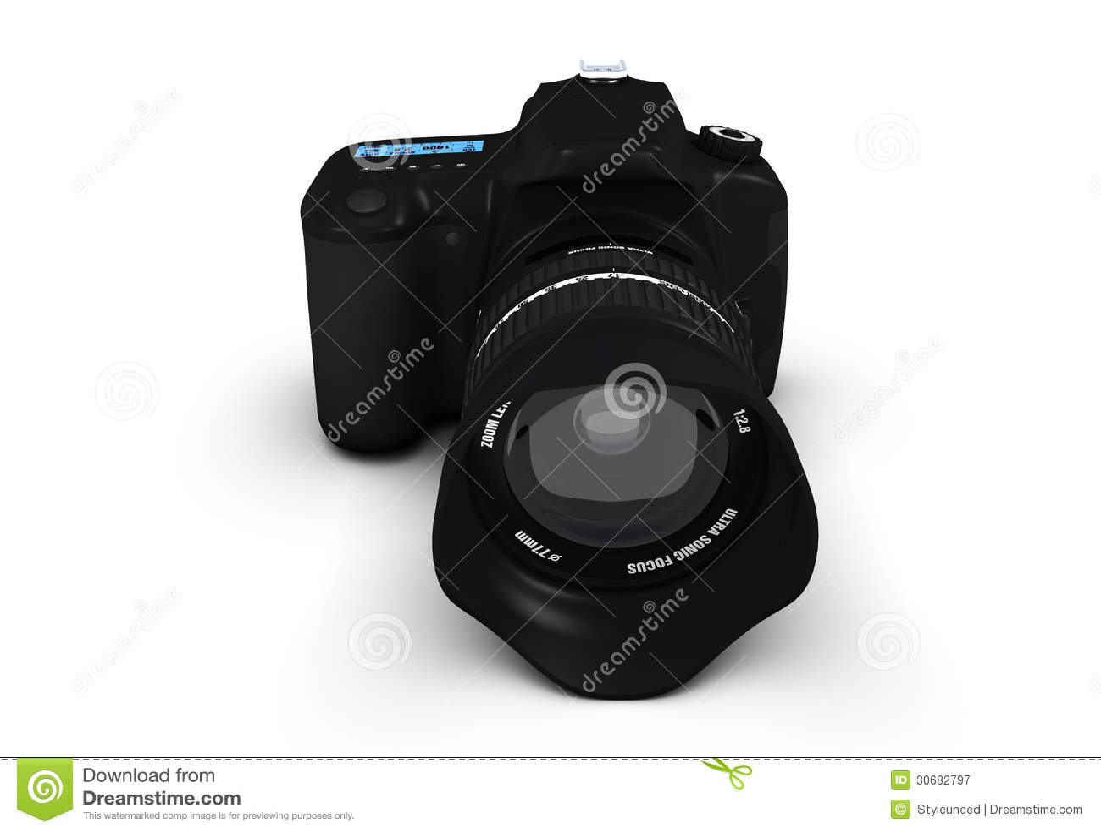 Camera 3d Dslr Camera dslr camera 3d model stock illustration image 57421229 of slr royalty free photography