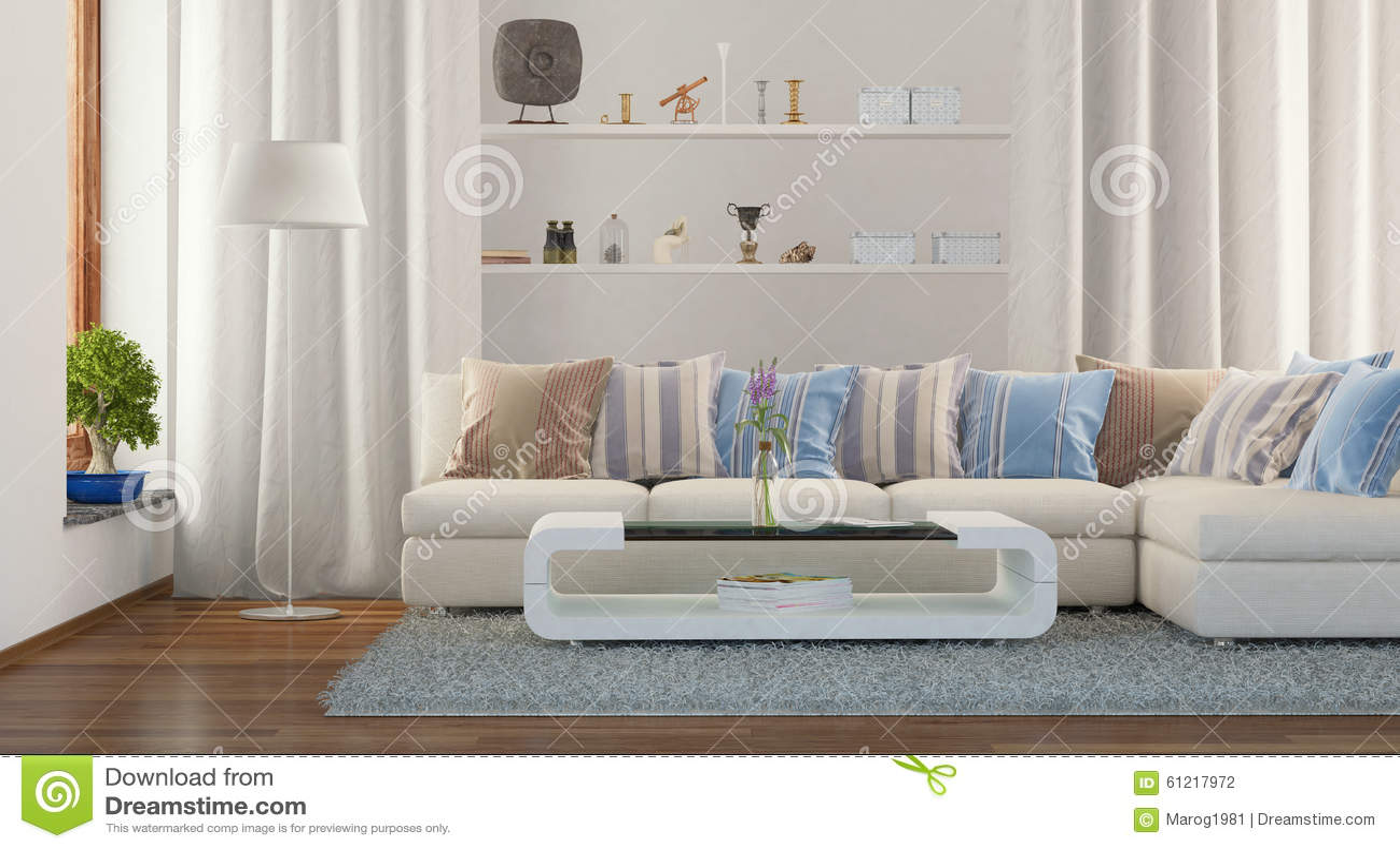 3d Fußboden Wohnzimmer ~ D modernes wohnzimmer stockfoto bild von fußboden