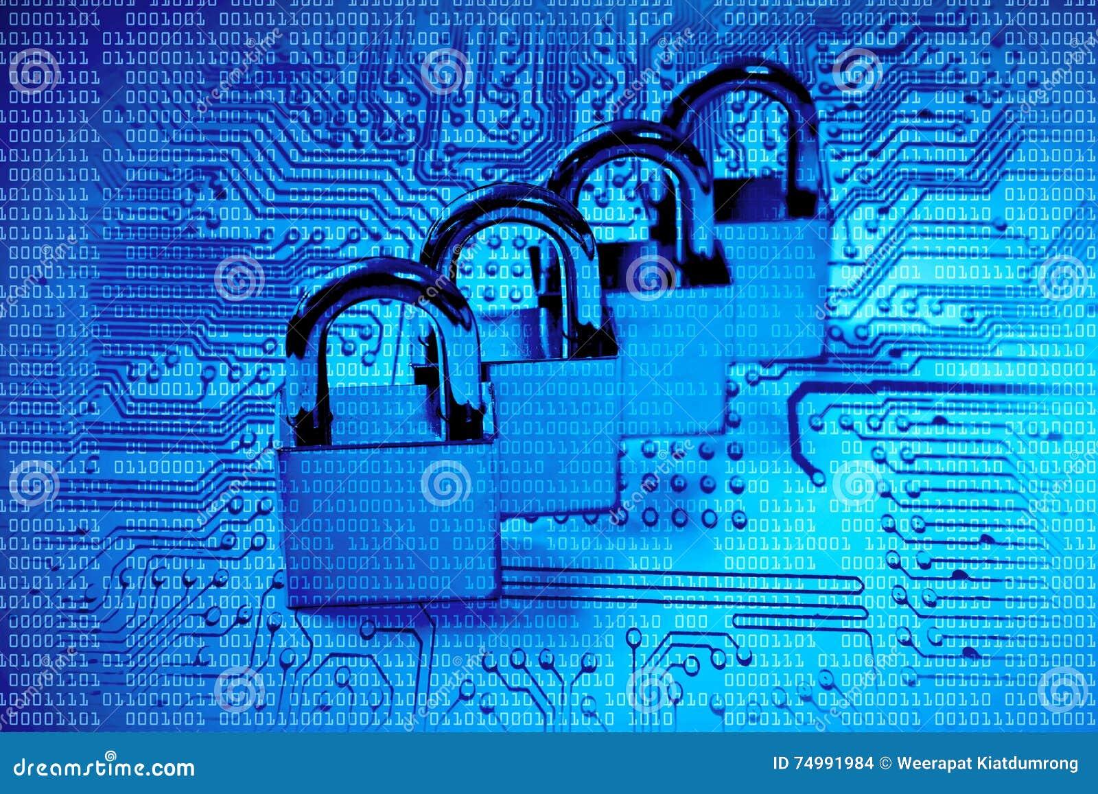 3d monitor komputerowa ilustracyjna ochrona