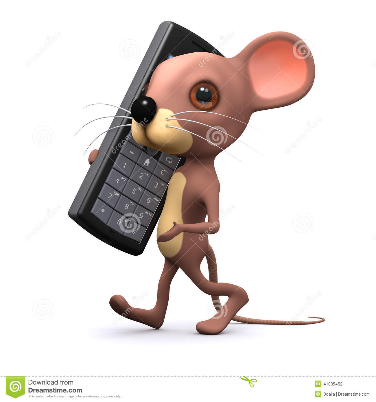 3d Mouse on mobile phone