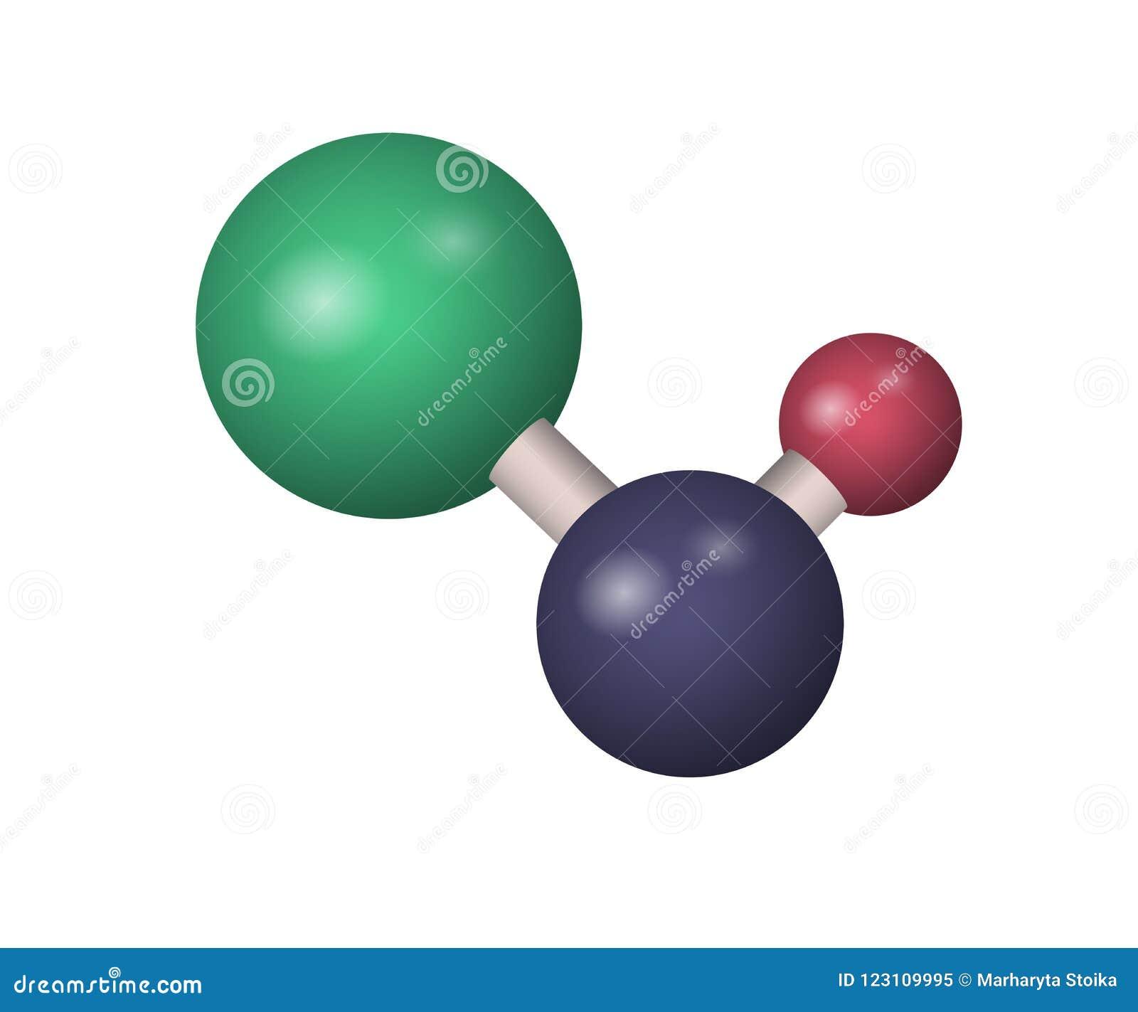 3d Naoh Molecule Stock Vector Illustration Of Hydroxide 123109995