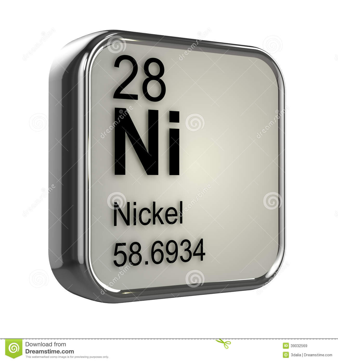 3d nickel element stock illustration image of protons 39032569 royalty free stock photo gamestrikefo Gallery