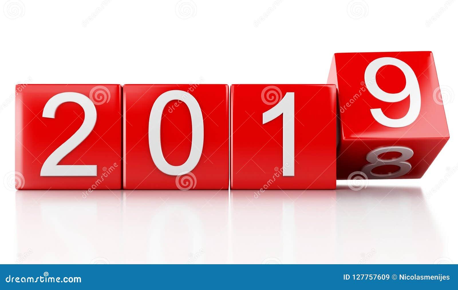 3d Nieuwjaar 2019