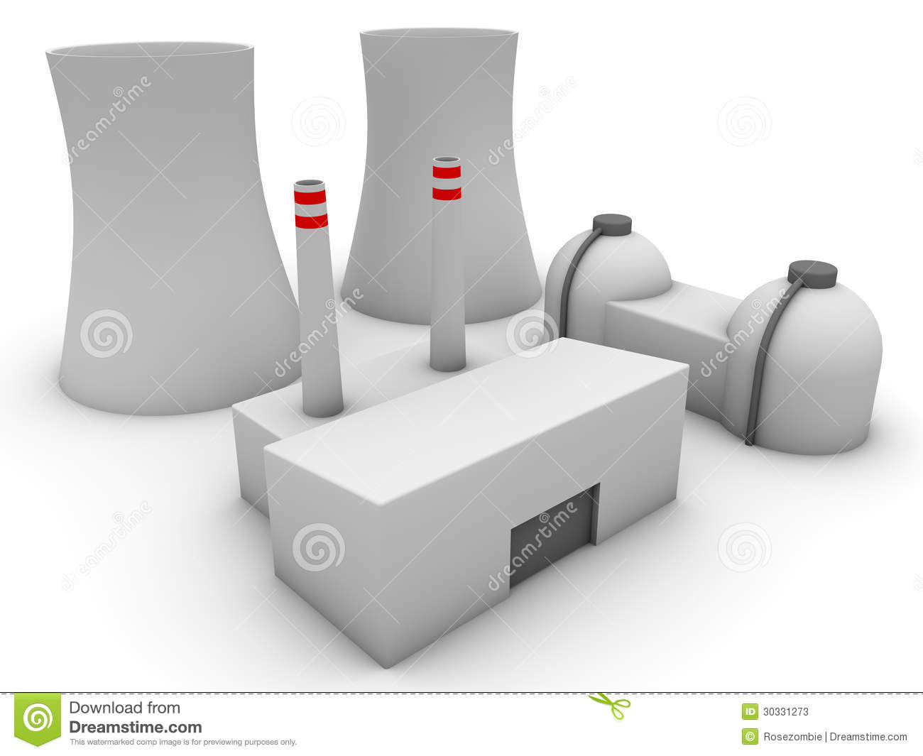 3d Nuclear Power Plant Stock Illustration Of Fukushima Diagram And Explanation