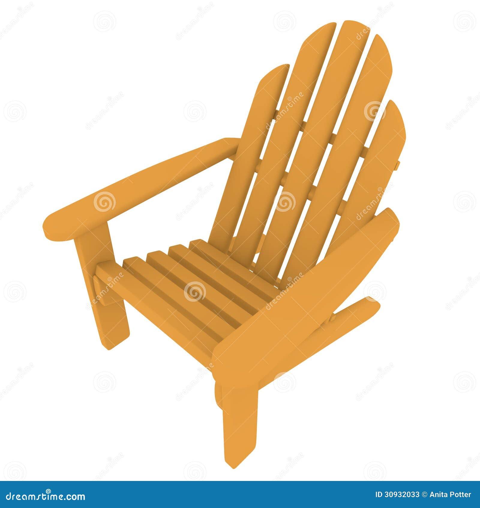 3d Odpłacają się Adirondack krzesło