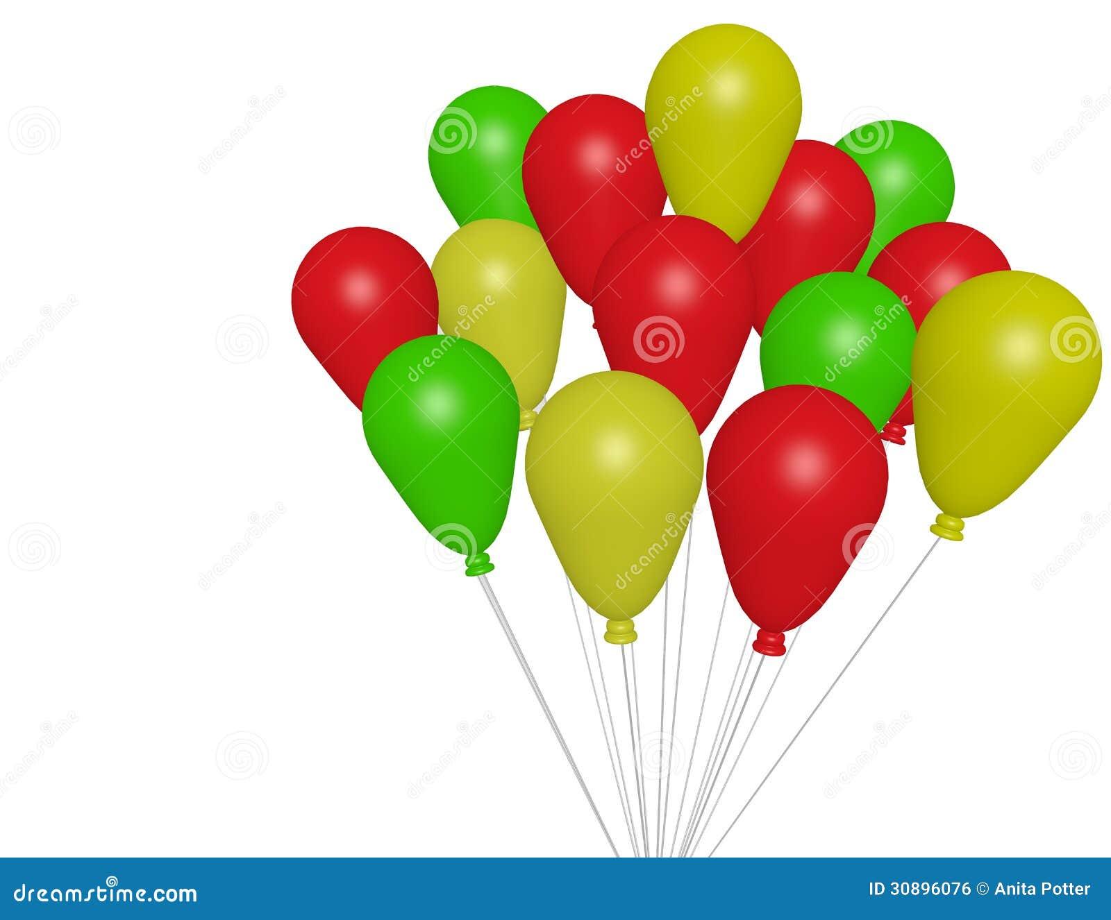 3d Odpłacają się Partyjni balony