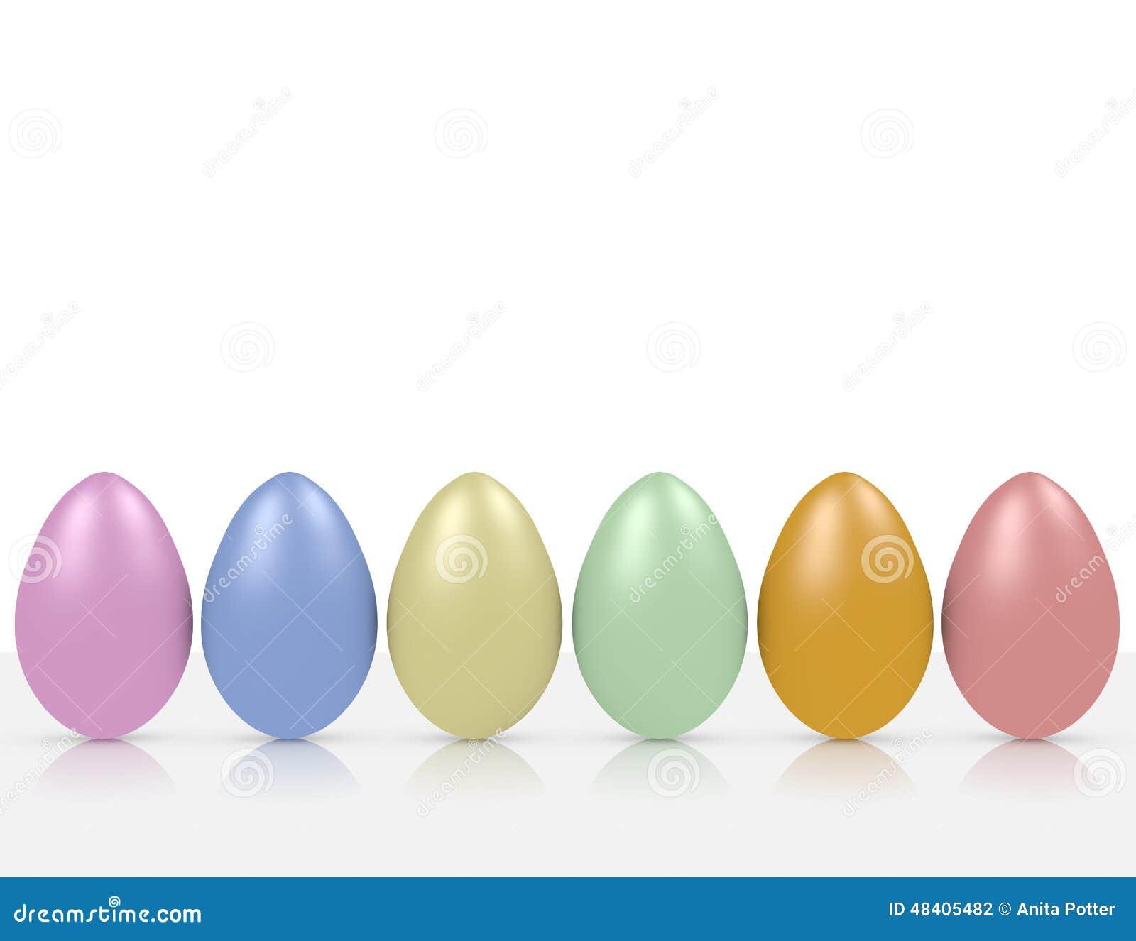 3d Odpłacają się Wielkanocnego jajka tło