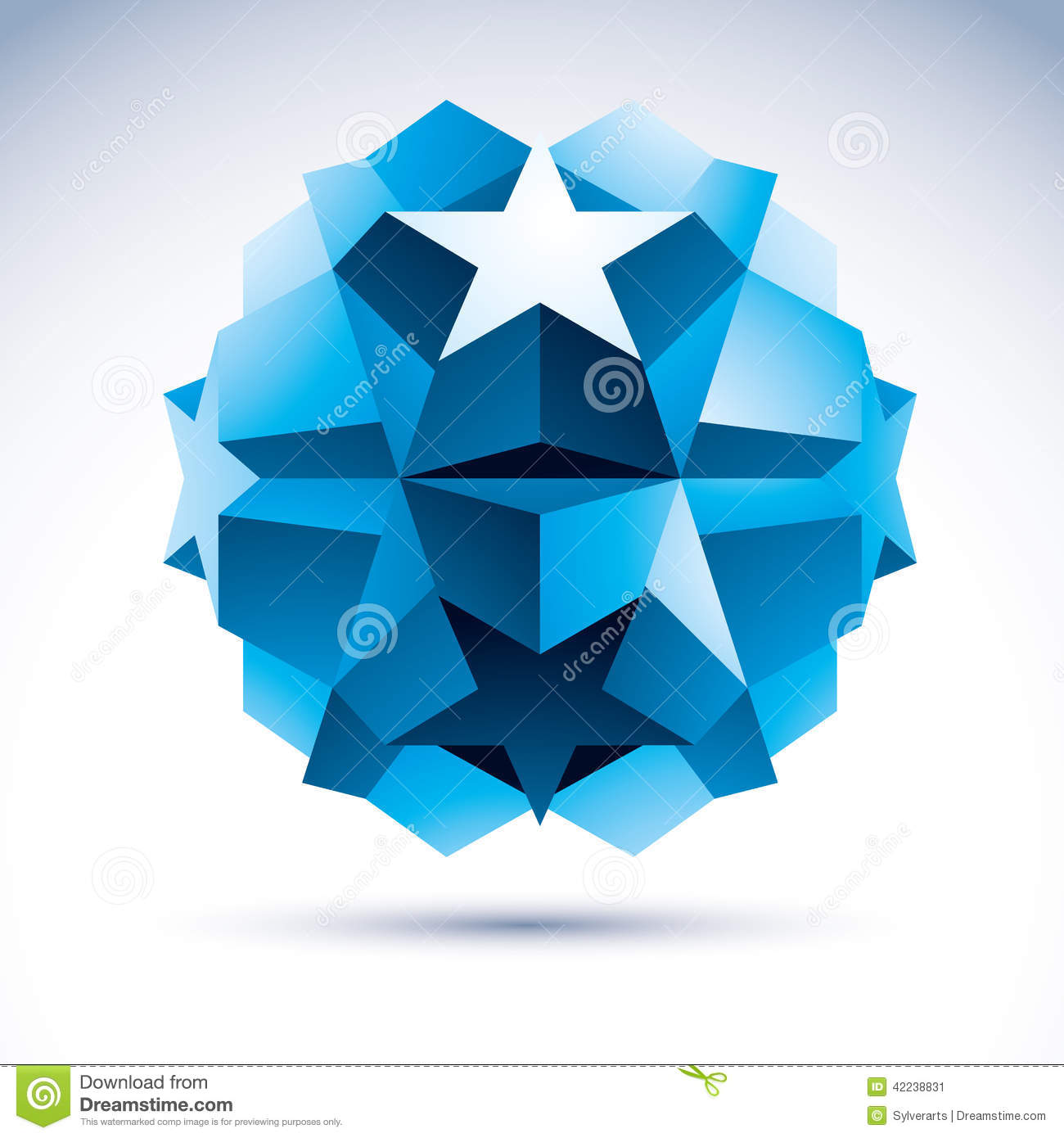 3D Origami Abstract Object, Vector Abstract Design Element ... - photo#8