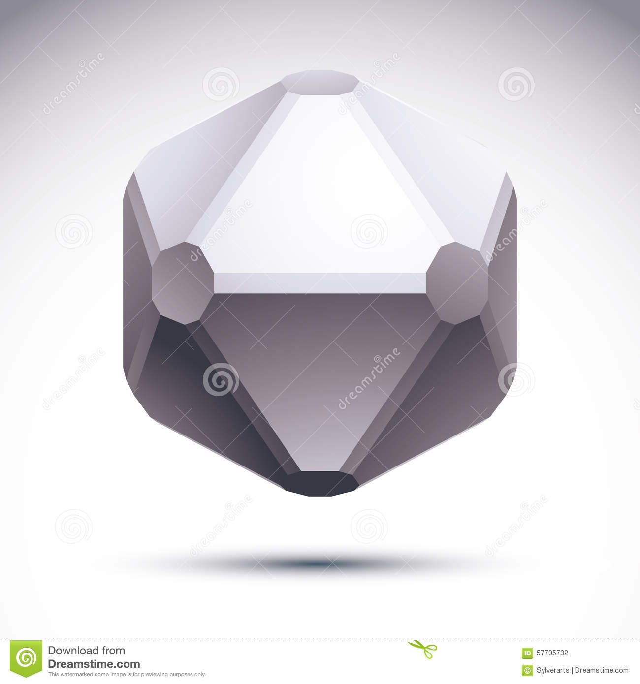 3D Origami Abstract Object, Vector Abstract Design Element ... - photo#20