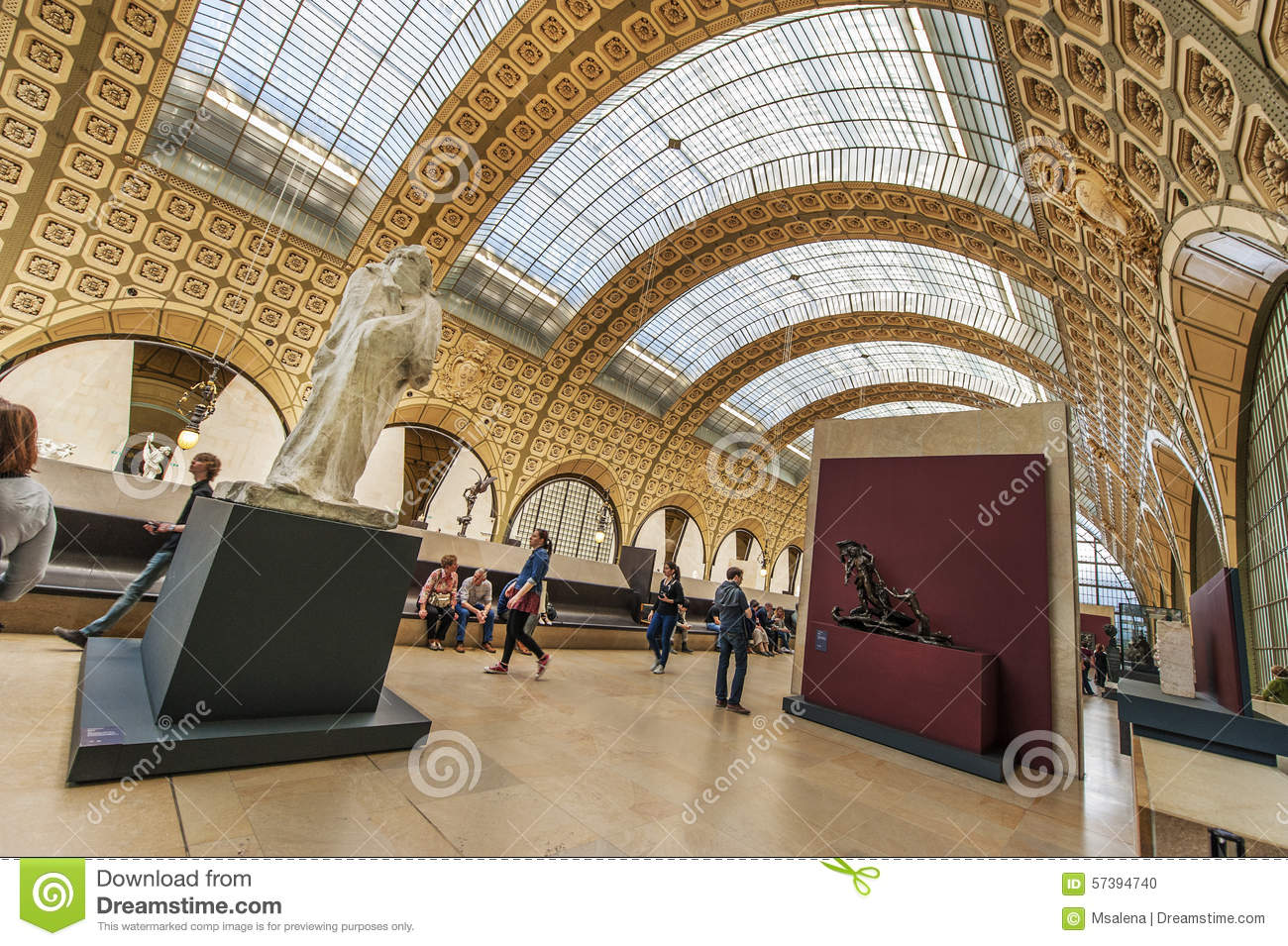 In d Orsay Musee