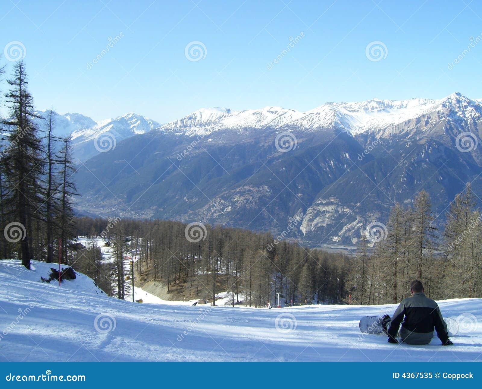 D oulx sauze snowboarding