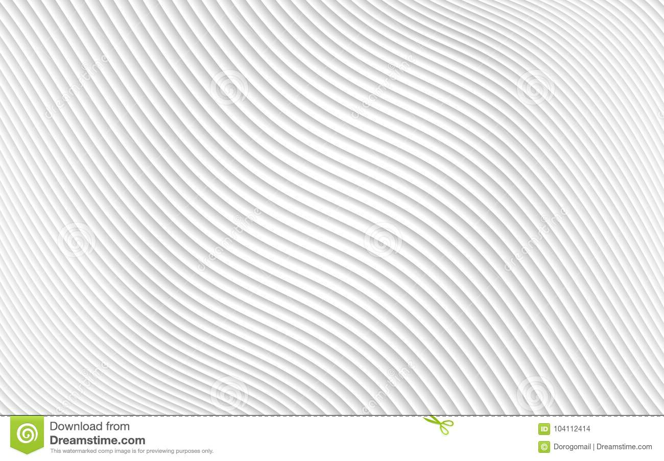 3D papercut abstract pattern. Gradient white paper layers. Vector background. Design layout of shape paper cut .
