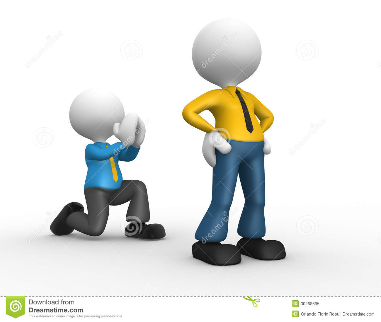 3d people - man... Free Clipart Collection Download