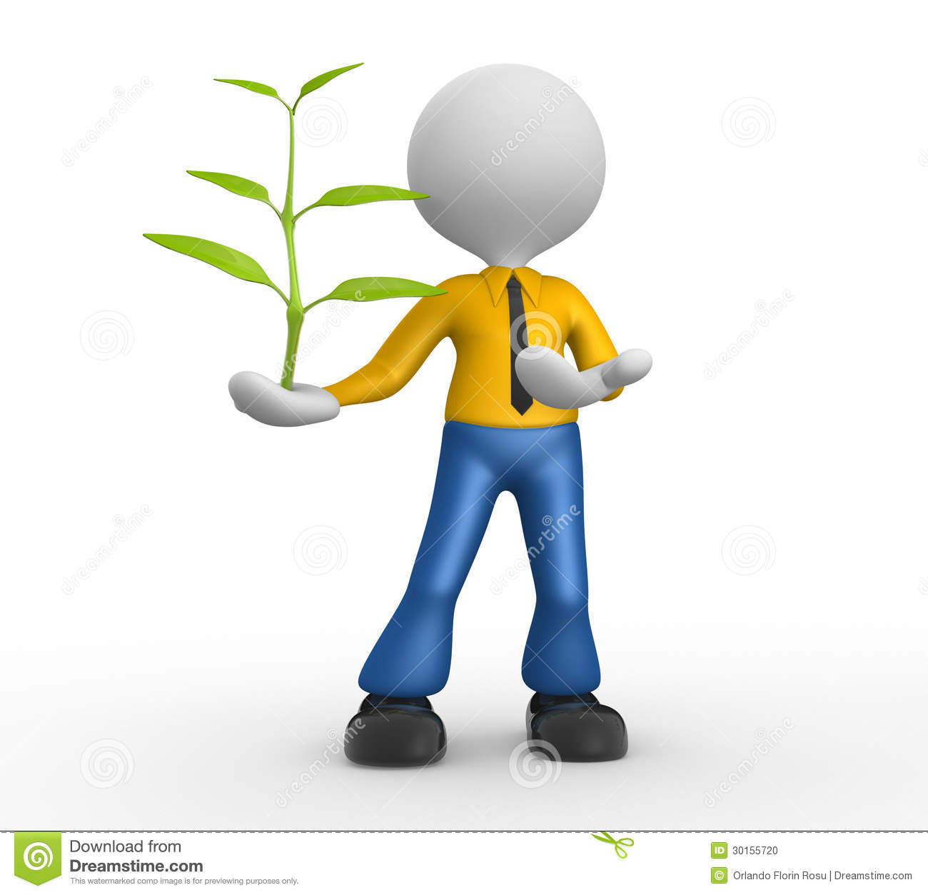 Plant Stock Illustration. Image Of Growth, Abstract