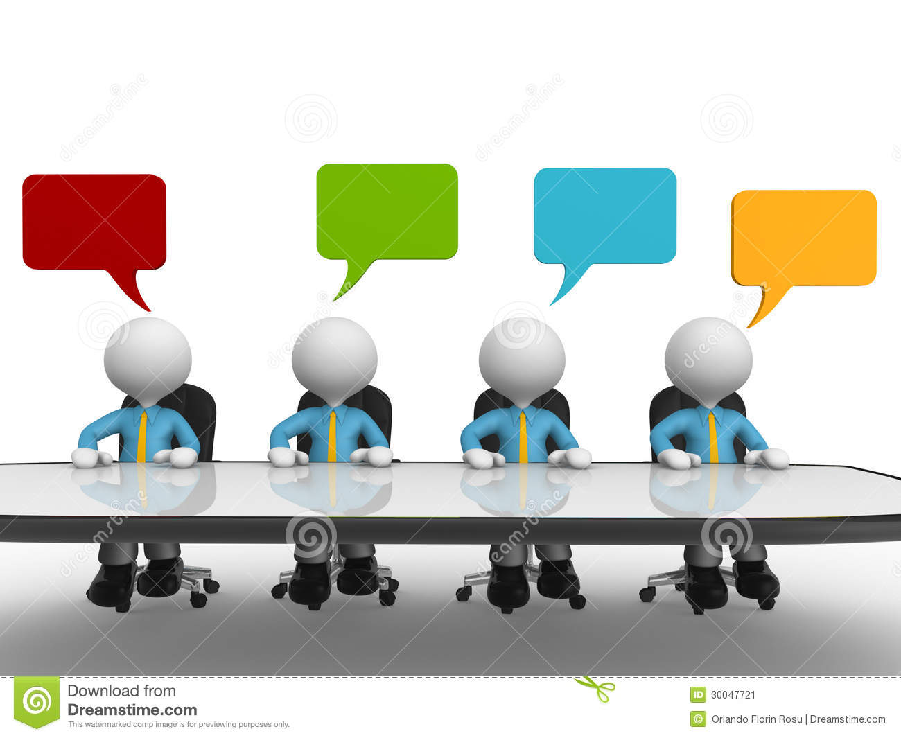 conference table stock image image 30047721