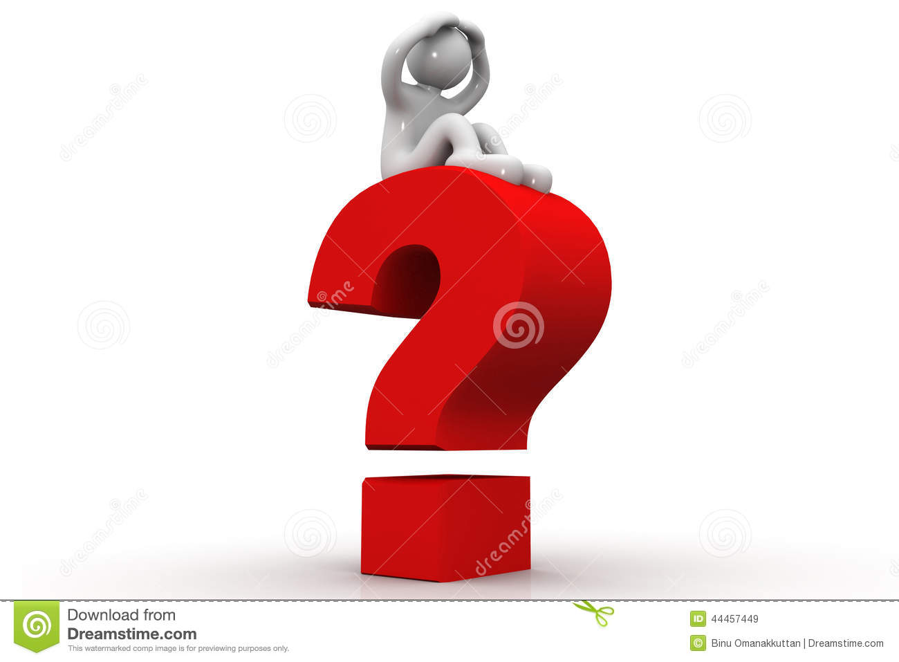 3d person with magnifying glass and question mark stock images image - Mark Person Question