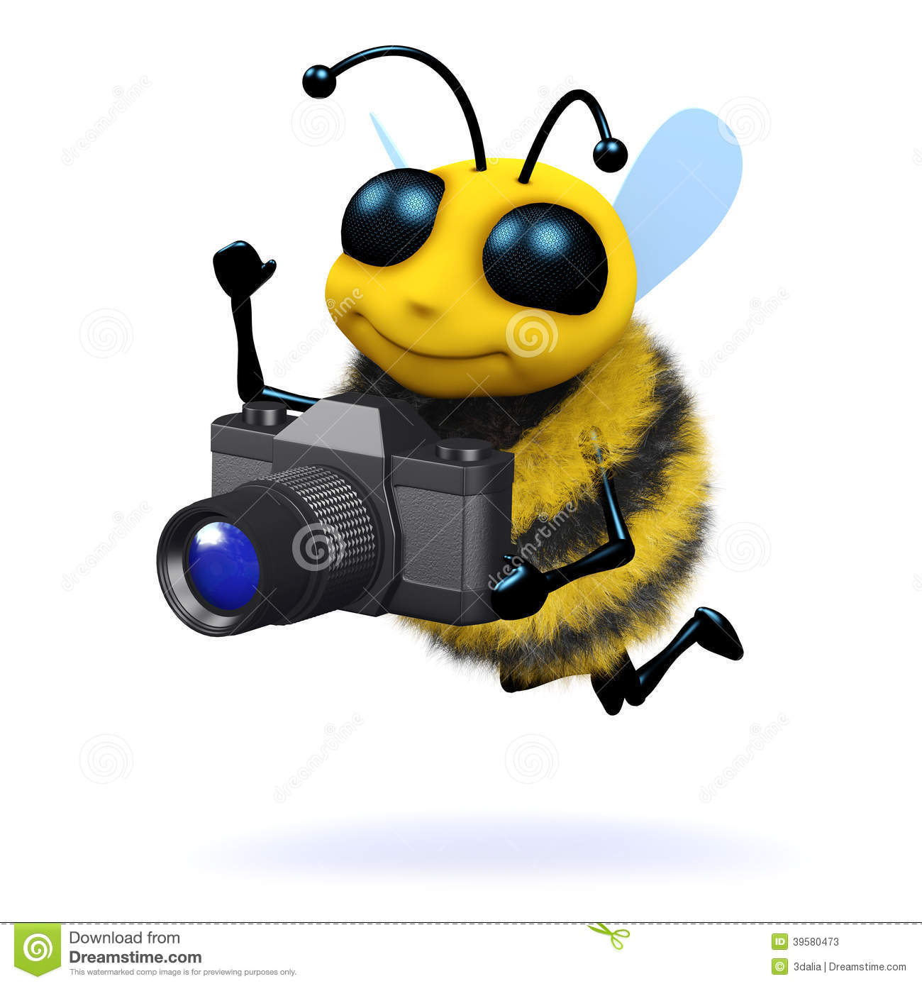 Black Bumble Bee >> 3d Photographer bee stock illustration. Image of bumble ...