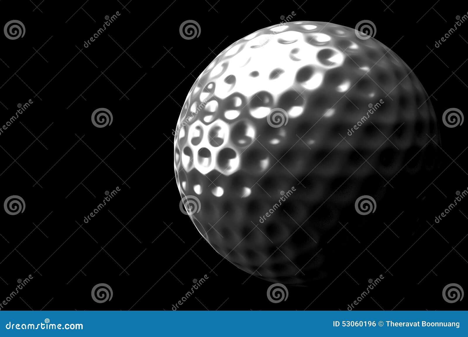 3d piłka golfowa
