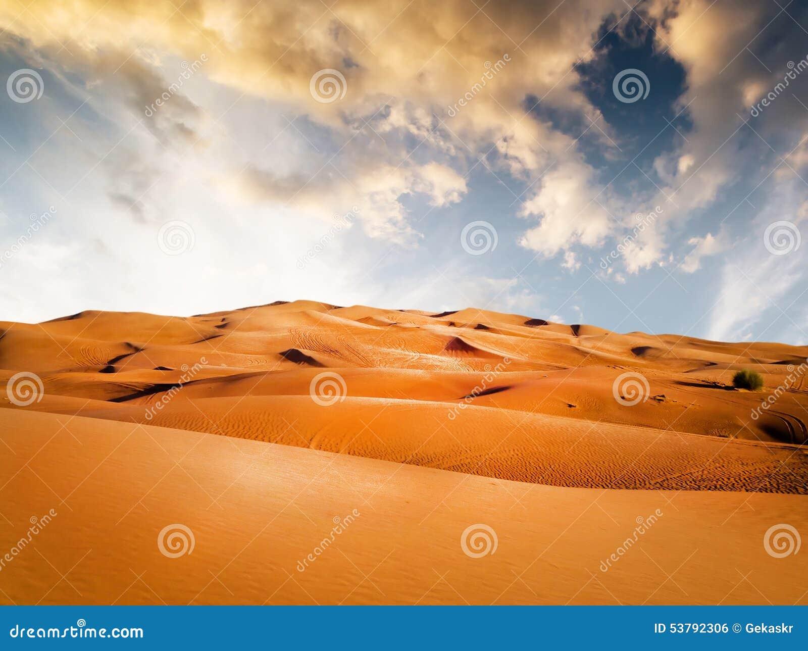 3d piaskowata pustynna wytwarzająca ilustracja