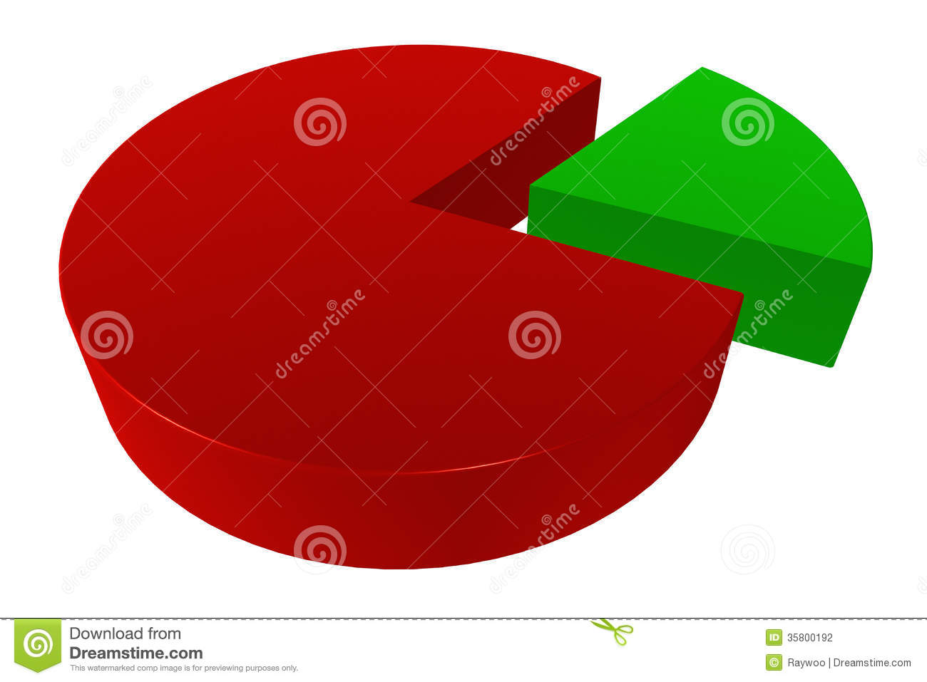 3d 8020 pie chart stock illustration illustration of 3d 8020 pie chart nvjuhfo Image collections