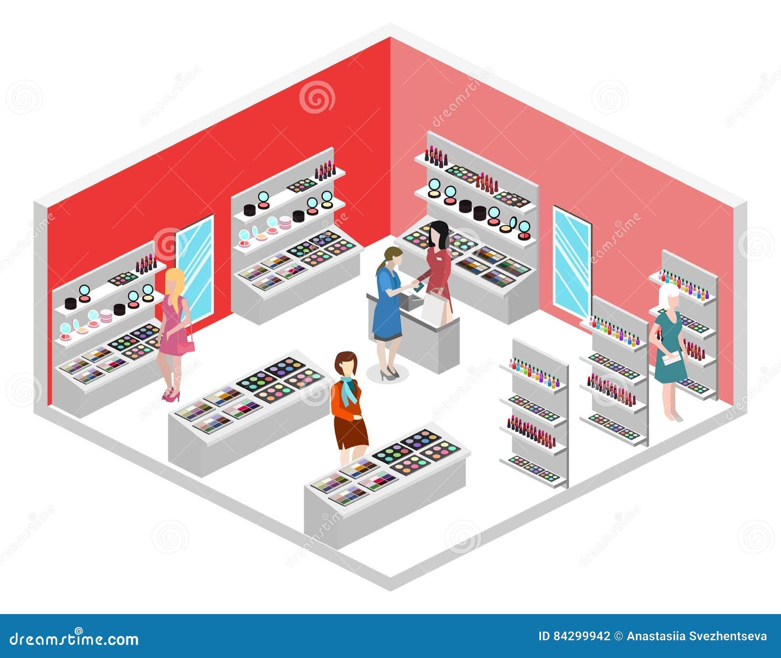 3d Plano Isom Trico Aisl La Tienda Interior De Los