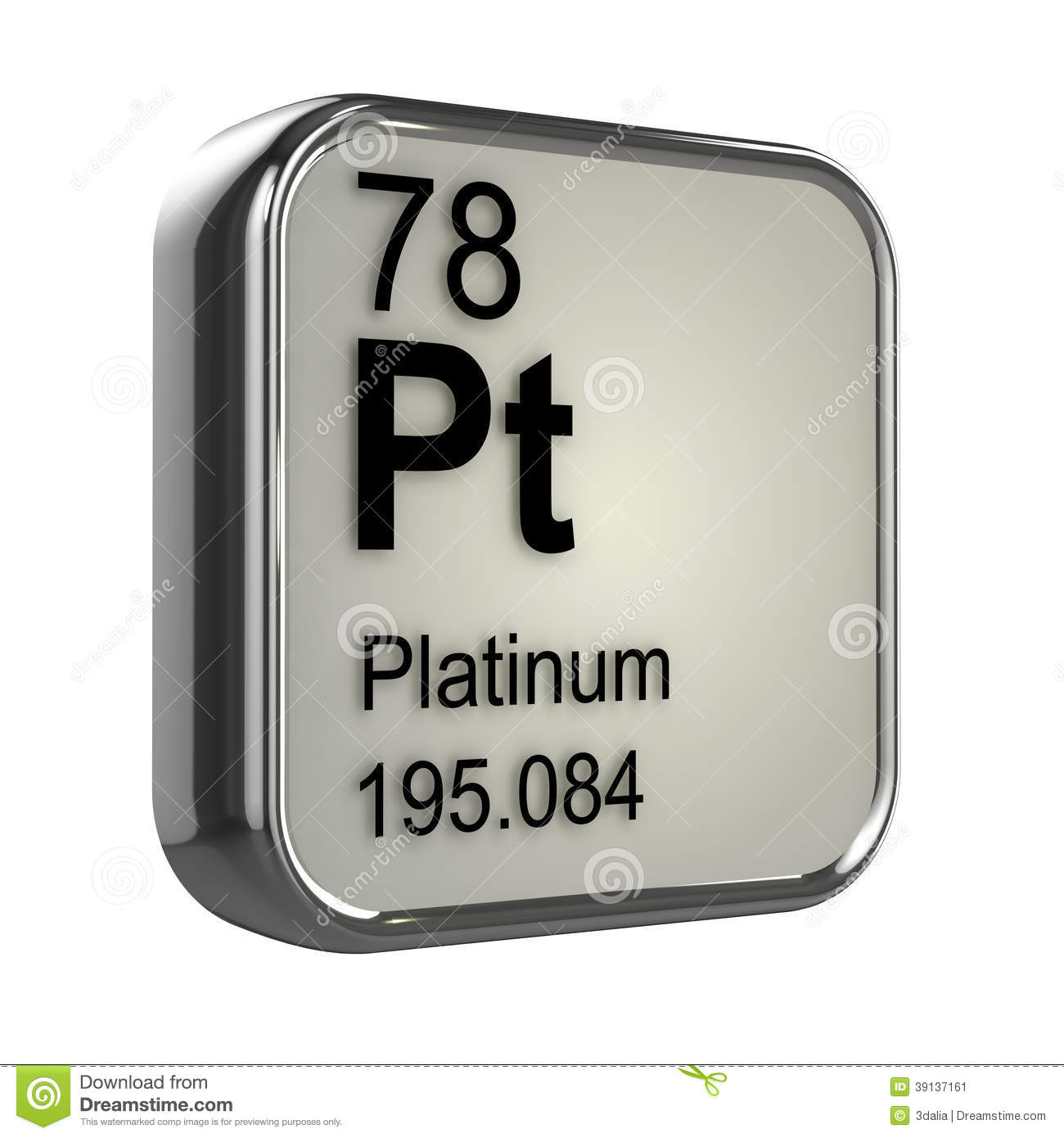 royalty vector platinum free periodic table icon image element