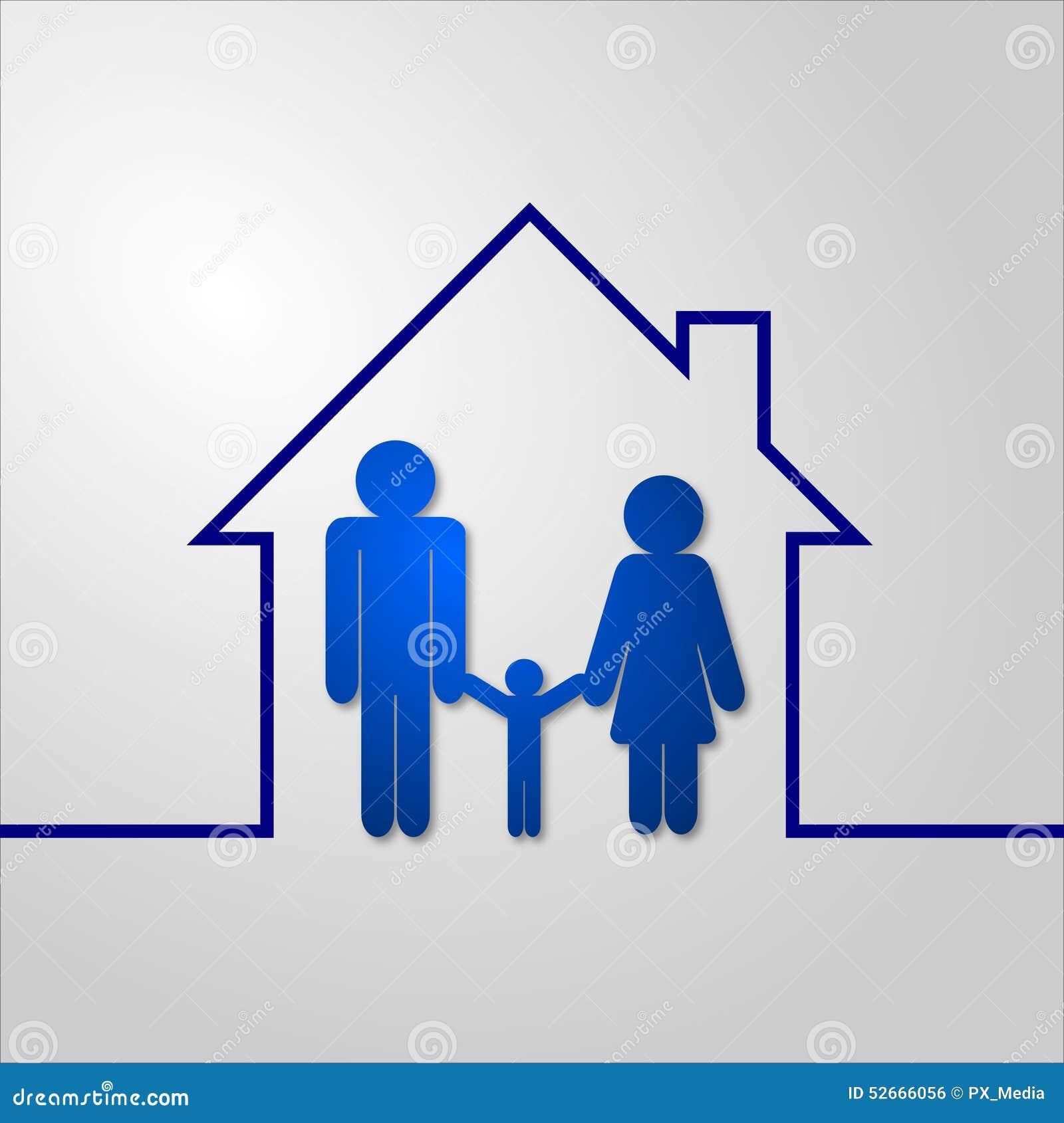 3d pojęcia domu obrazek odpłacający się