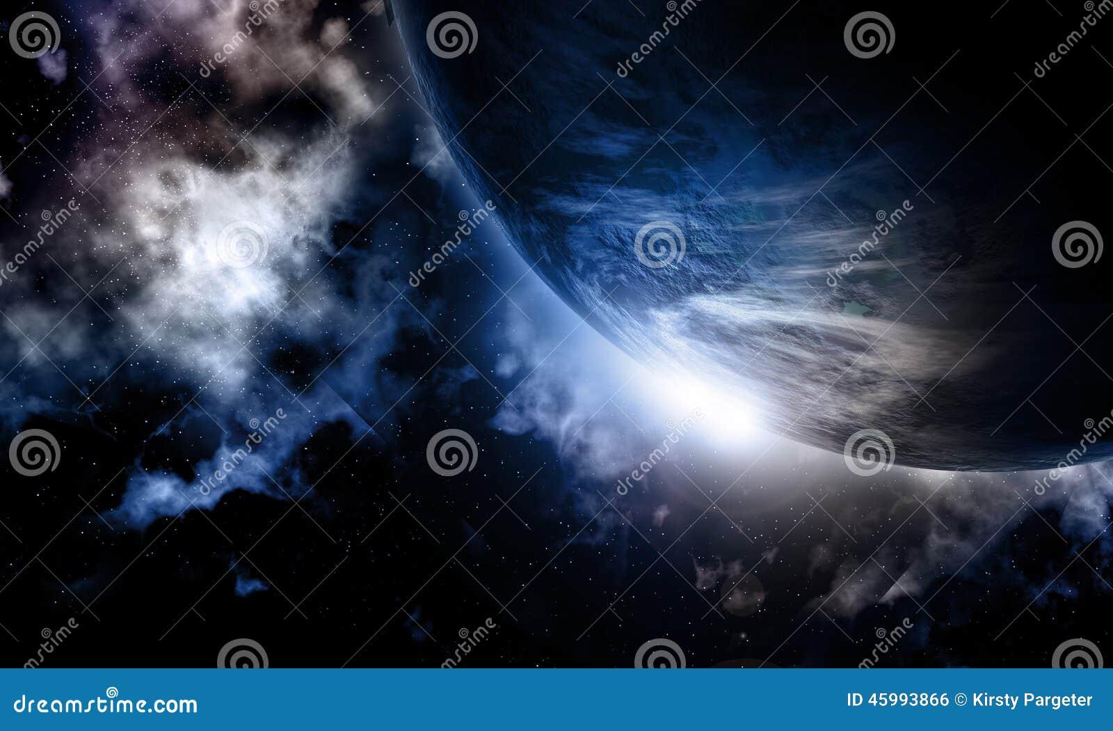 3D powieściowy astronautyczny tło