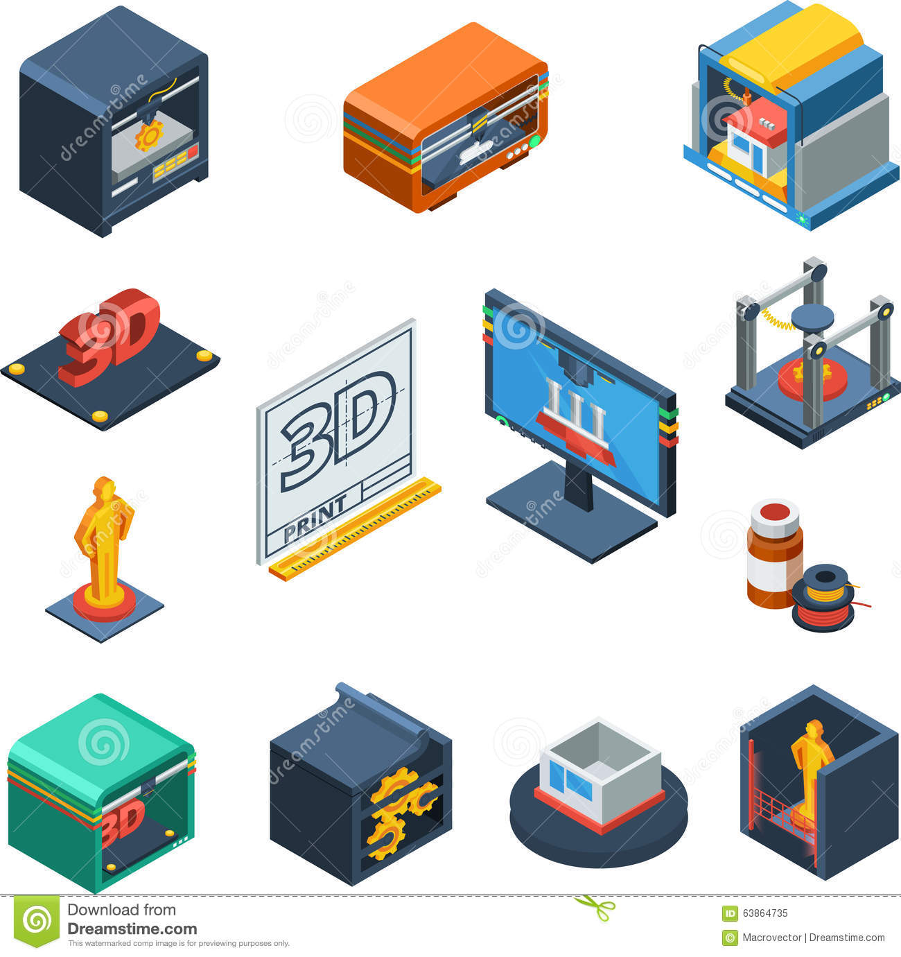 Stock Illustration D Printing Isometric Icons Collection Technological Process Isomeric Software Prototype Scanning Object Manufacturing Image63864735 besides 3D Printed Electric Car Hit Market 7 500 moreover 3d Printing London further Laser additive manufacturing going mainstream besides Mfa. on 3d car manufacturing
