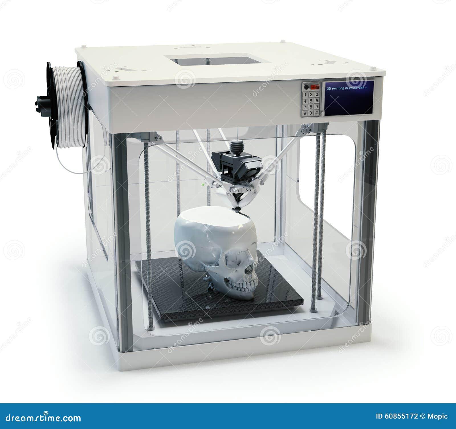 3D Printing Prosthetics Stock Photo. Image Of Machine