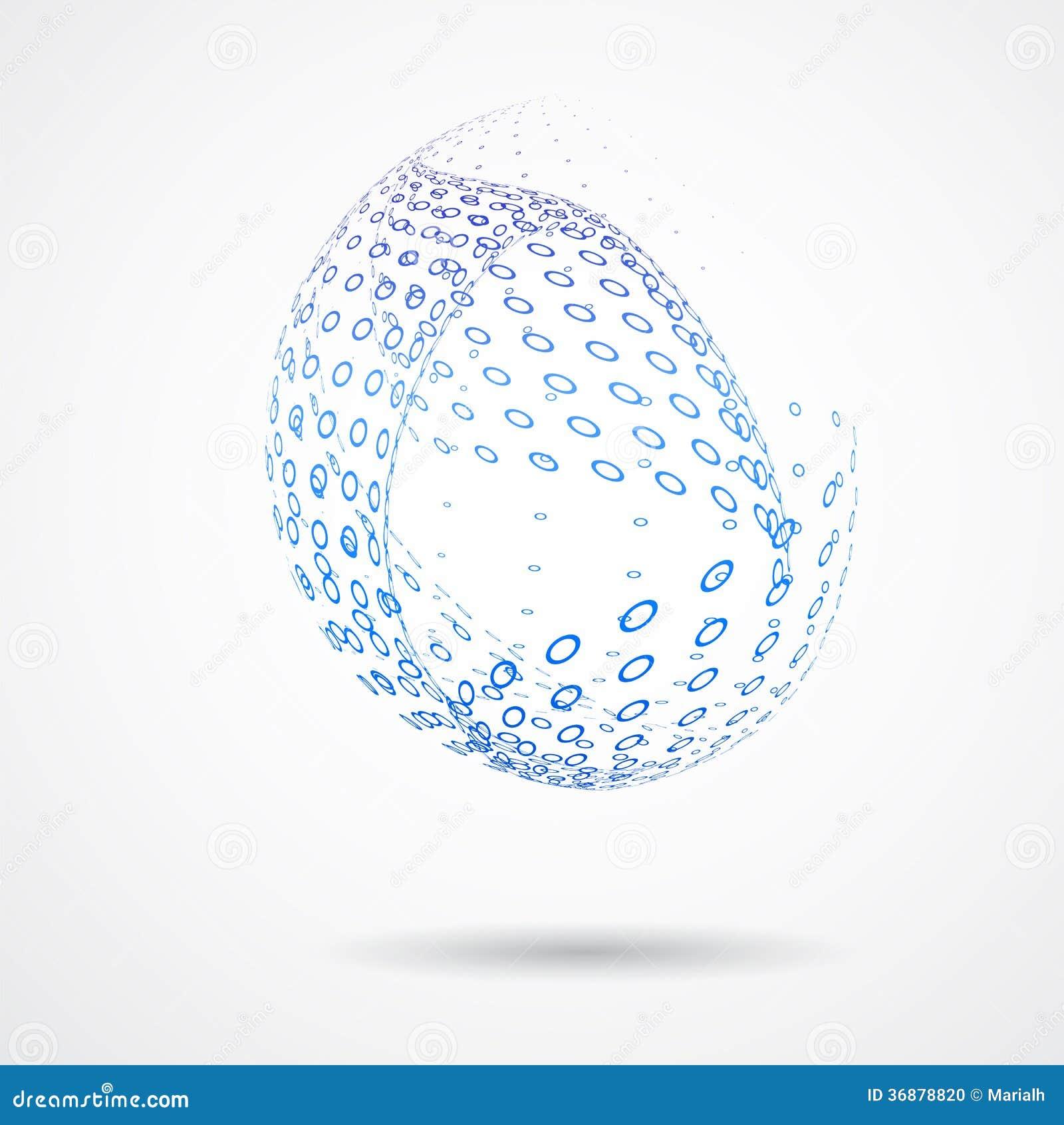 Download 3d Progettazione Astratta Background_01 Illustrazione Vettoriale - Illustrazione di estratto, astrazione: 36878820