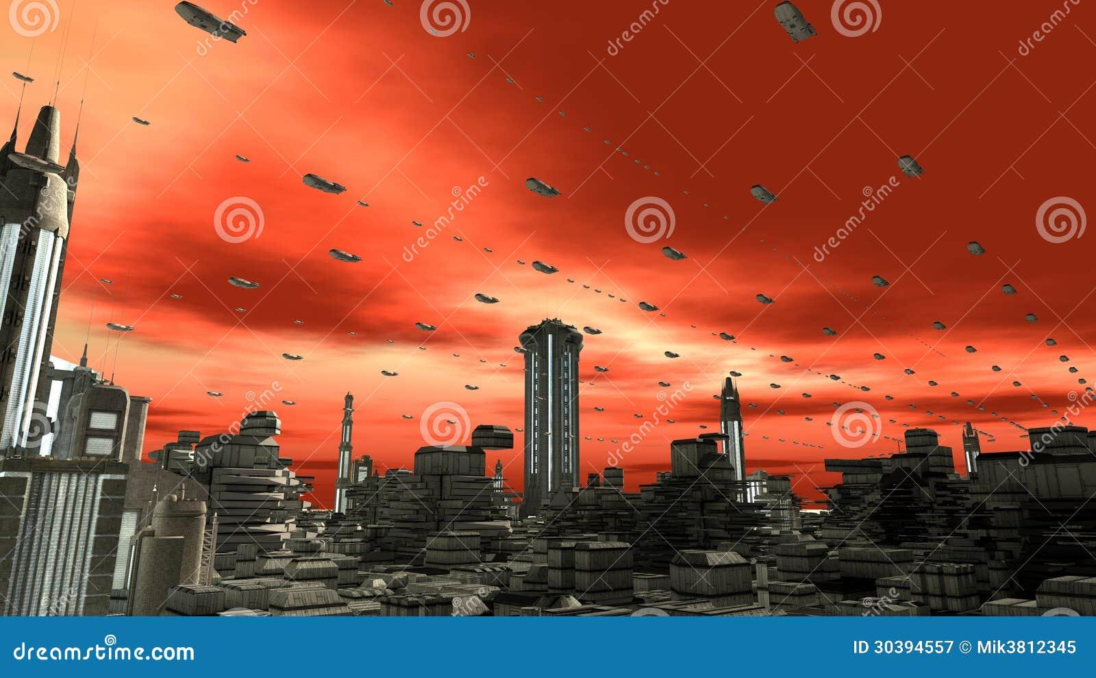 Futurystyczna planeta