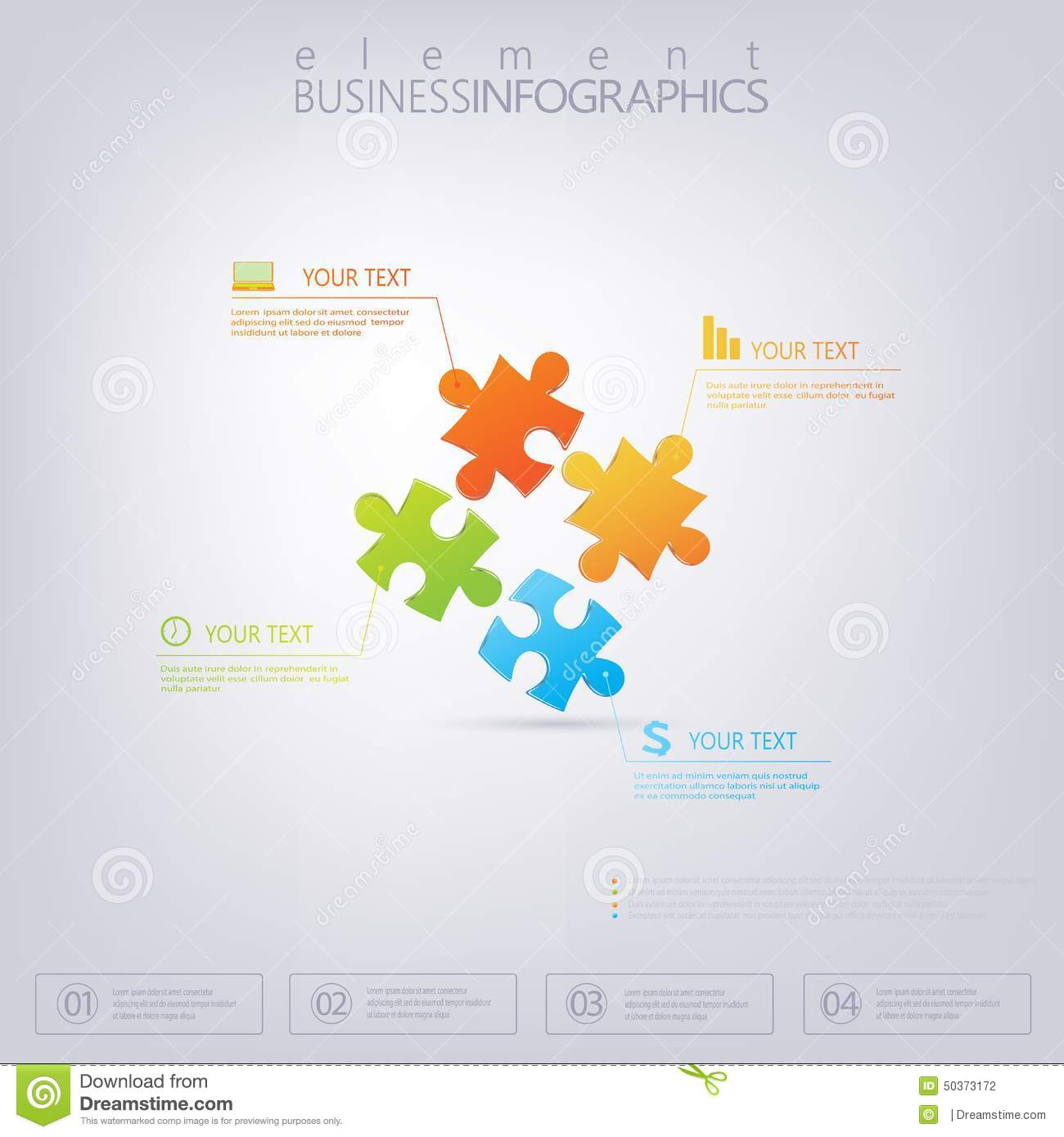 3d puzzle piece infographics can be used for web design diagram 3d puzzle piece infographics can be used for web design diagram for workflow layout promotion icon ccuart Gallery