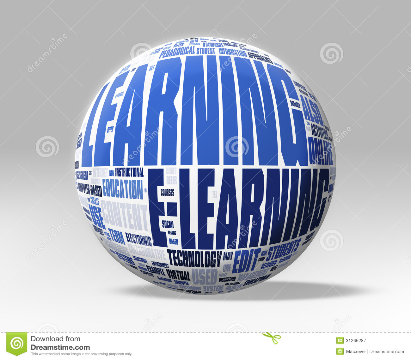 3d que aprende o globo fotografia de stock royalty free imagem 31265287 - Oglo o ...