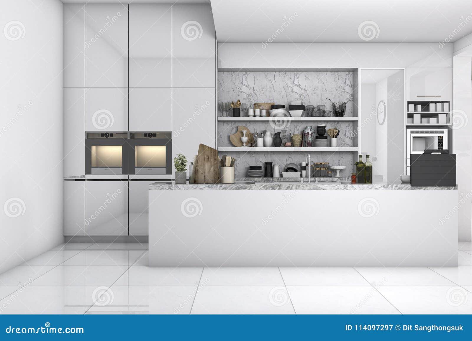 Fantástico Diseño Libre De La Cocina 3d Componente - Ideas de ...