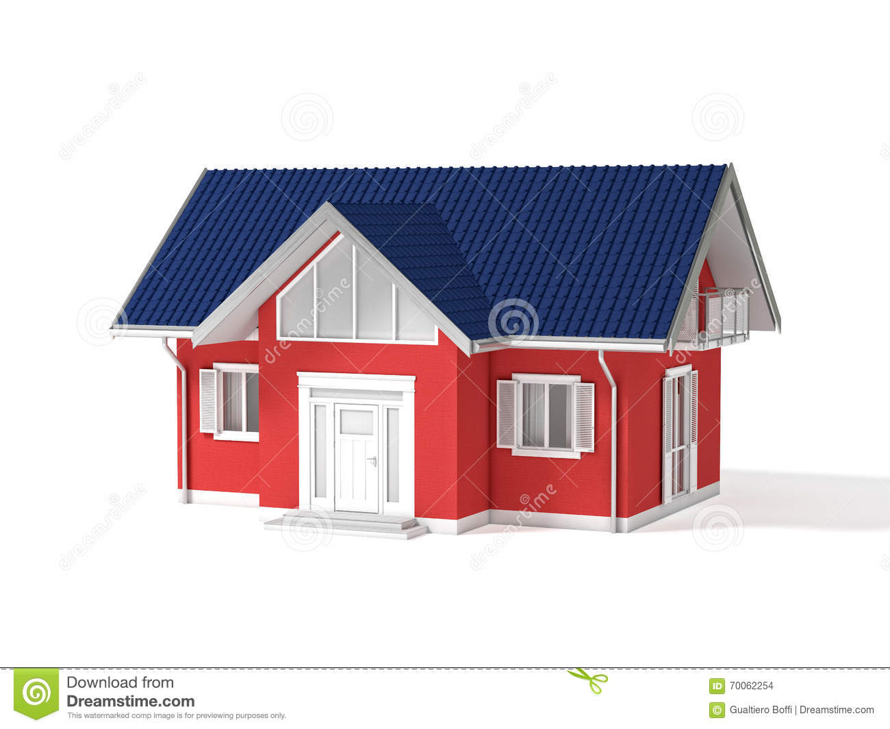 3d real estate stock illustration image 70062254 for Classic homes real estate