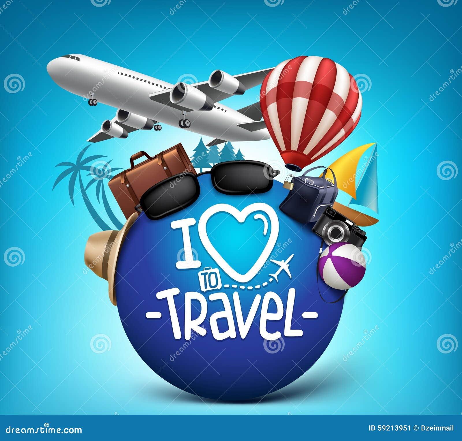 Travel Around The World Bag