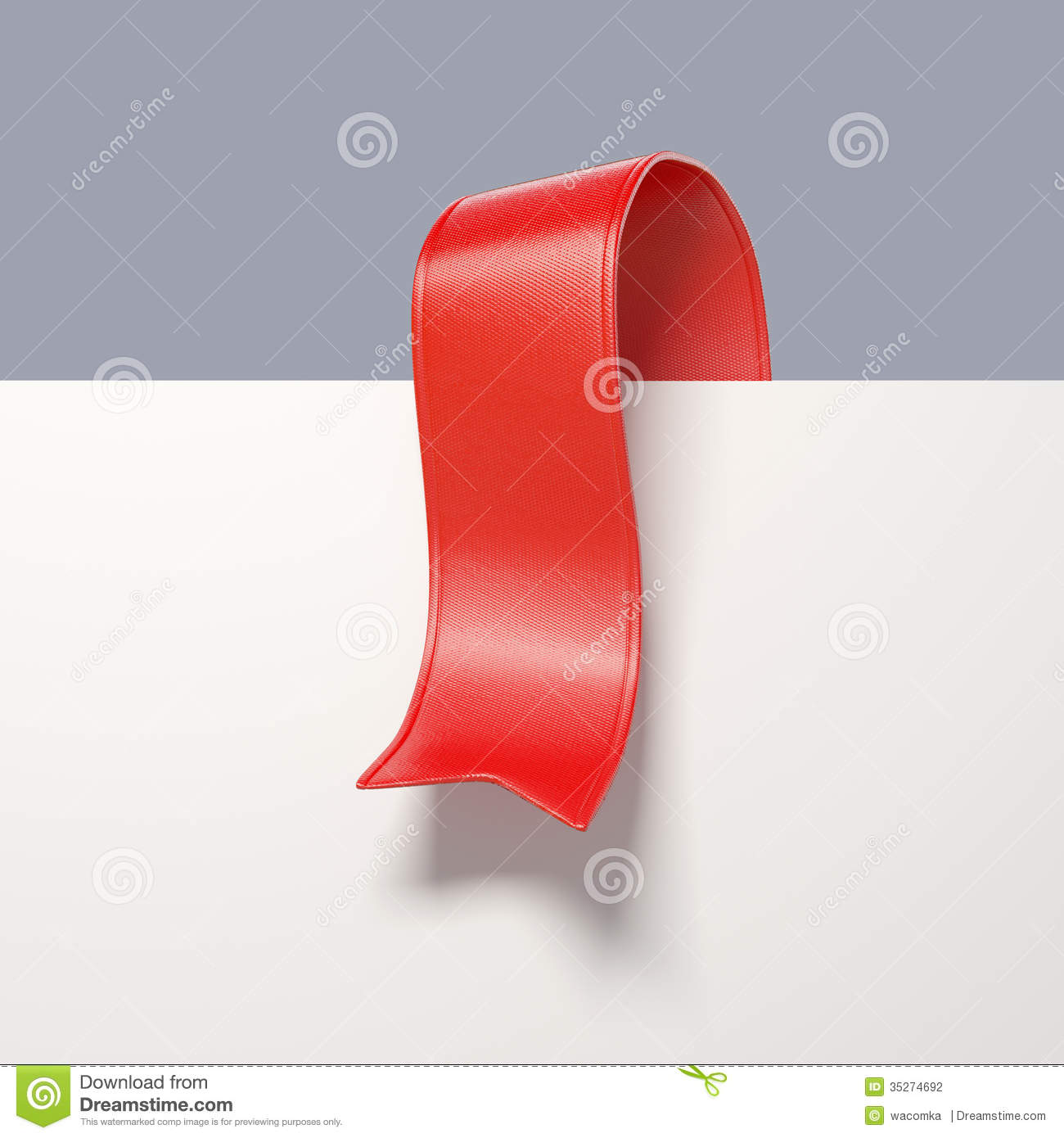 Red Ribbon 3D