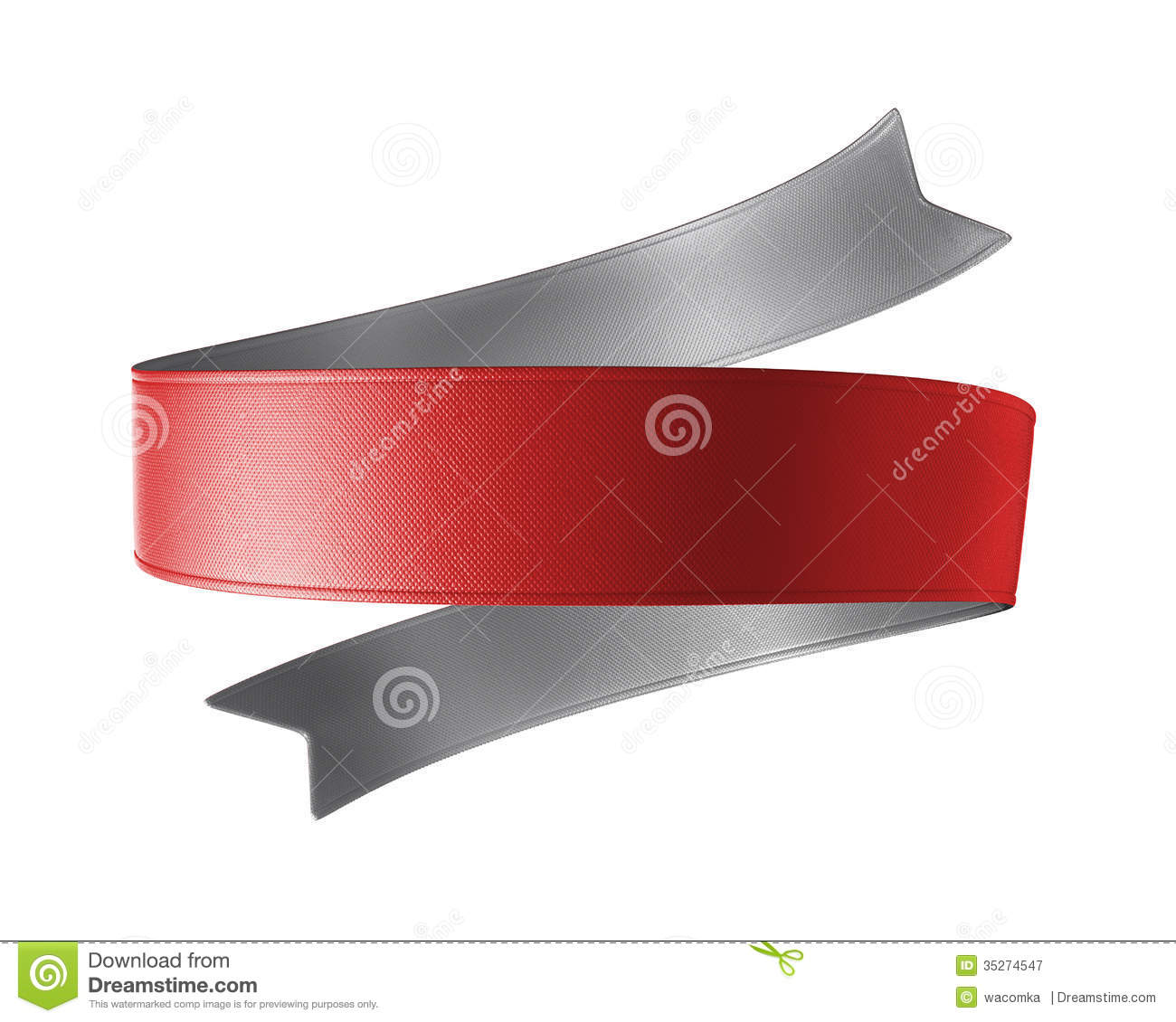 Displaying 20> Images For - Double Ribbon Banner Template...